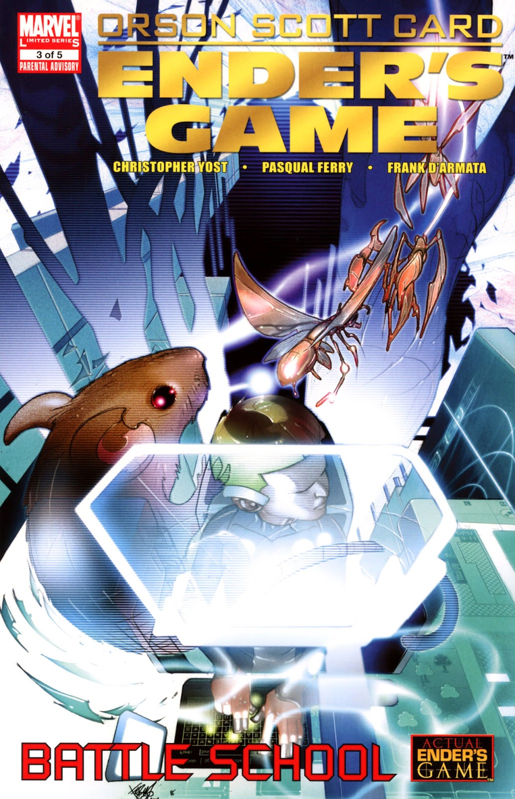 Ender's Game: Battle School issue 3 - Page 1