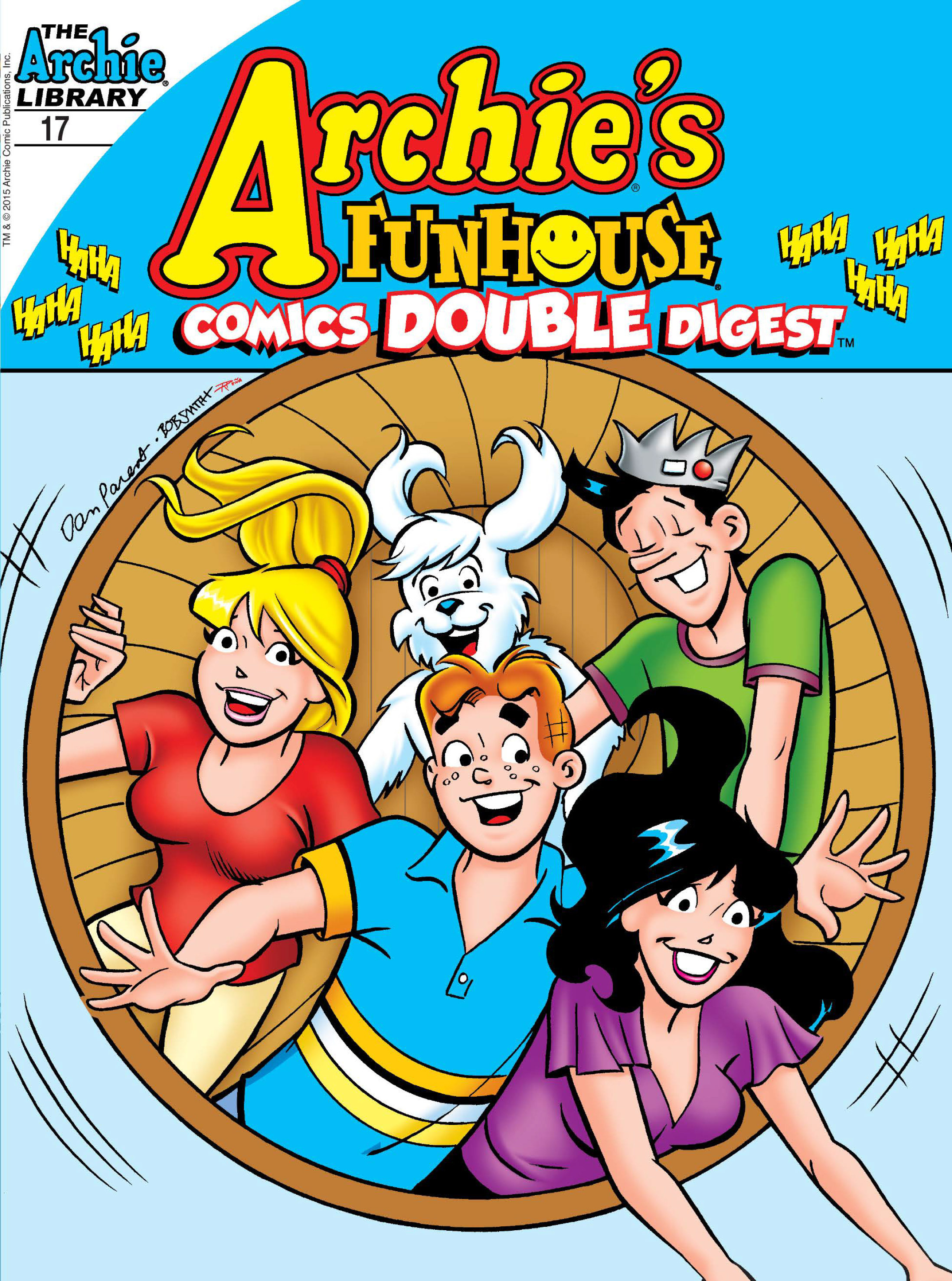 Read online Archie's Funhouse Double Digest comic -  Issue #17 - 1