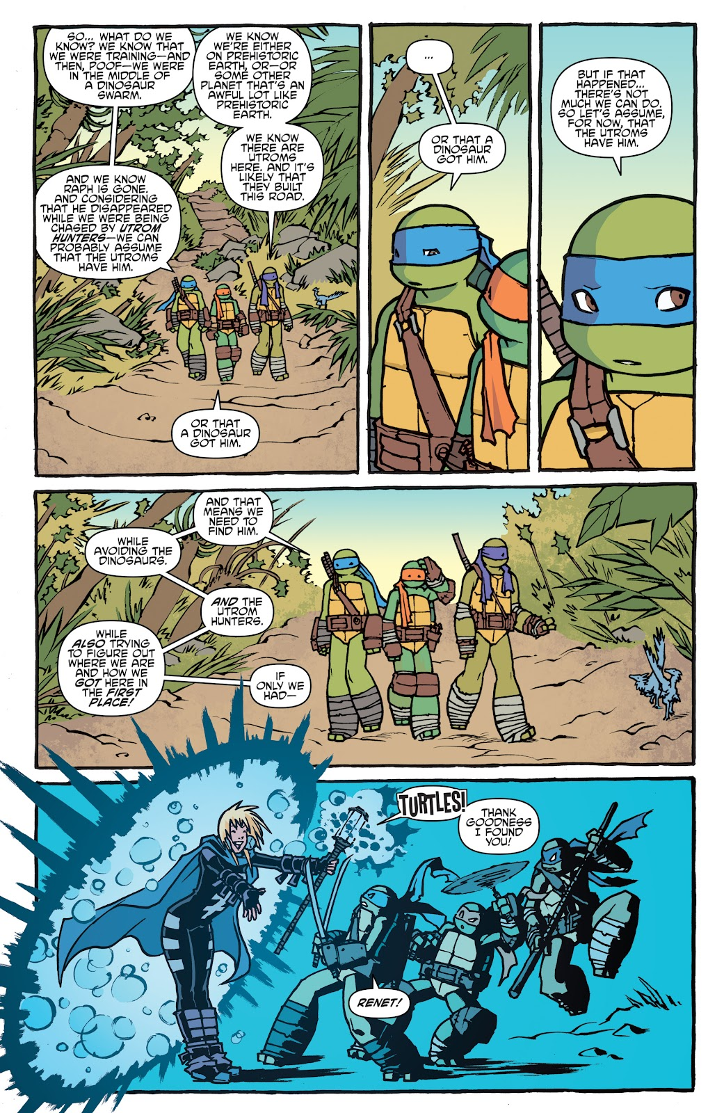 Read online Teenage Mutant Ninja Turtles: The IDW Collection comic -  Issue # TPB 5 (Part 1) - 16