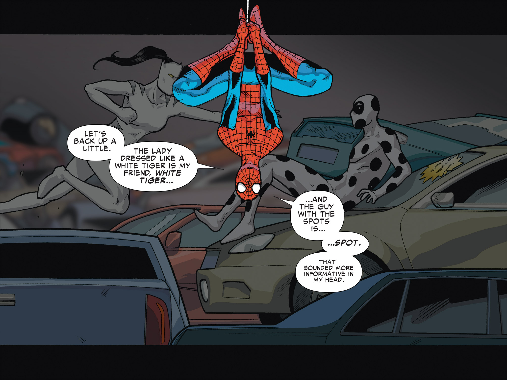 Read online Ultimate Spider-Man (Infinite Comics) (2016) comic -  Issue #6 - 13