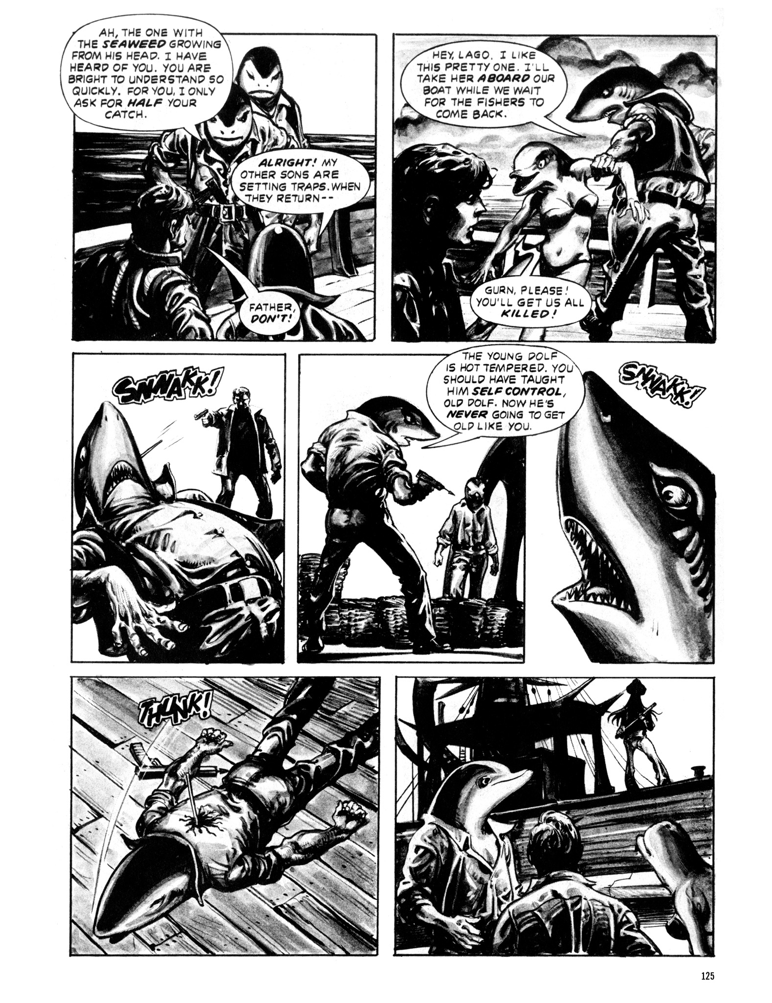 Read online Eerie Archives comic -  Issue # TPB 20 - 125
