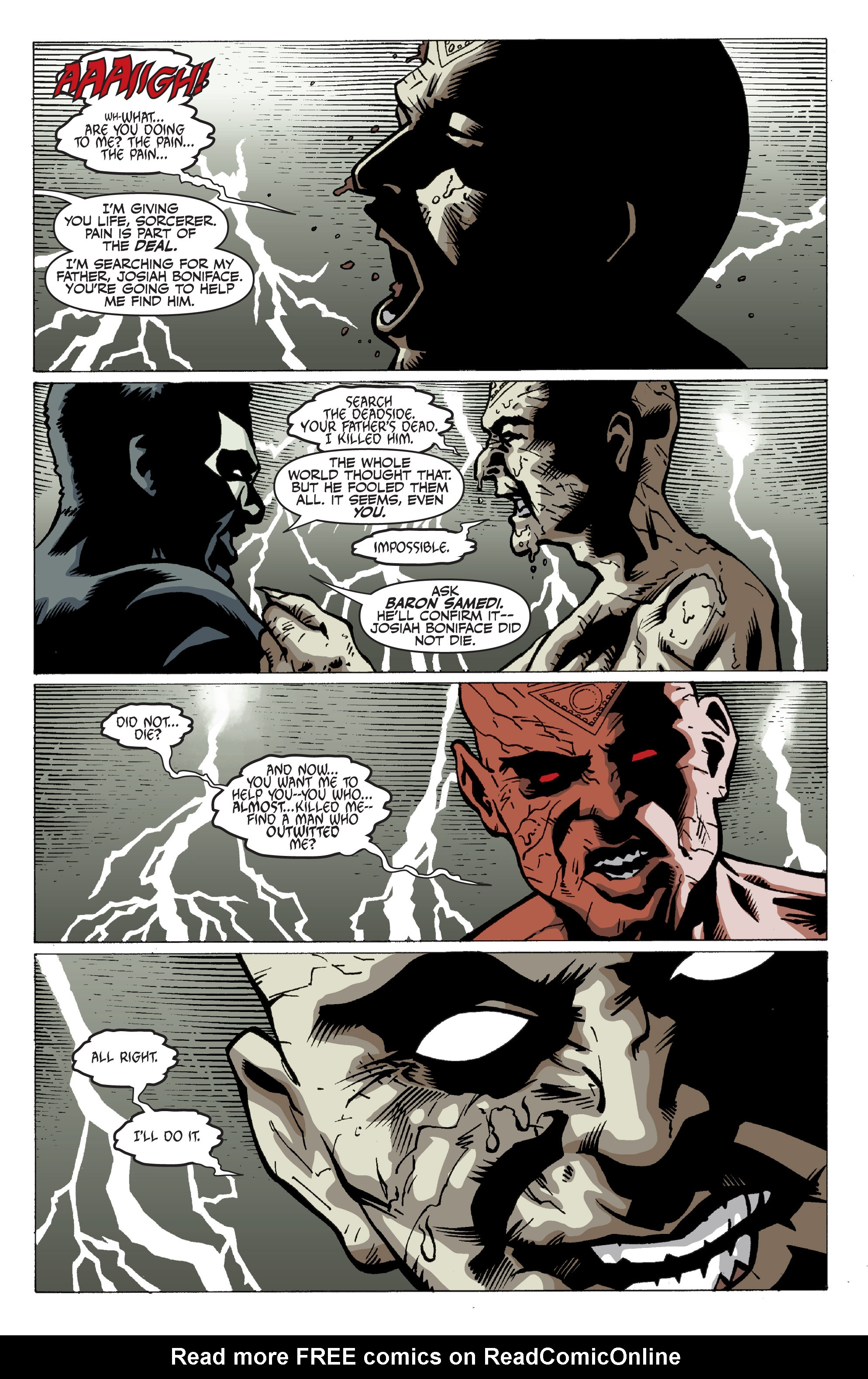 Read online Shadowman: End Times comic -  Issue #3 - 11