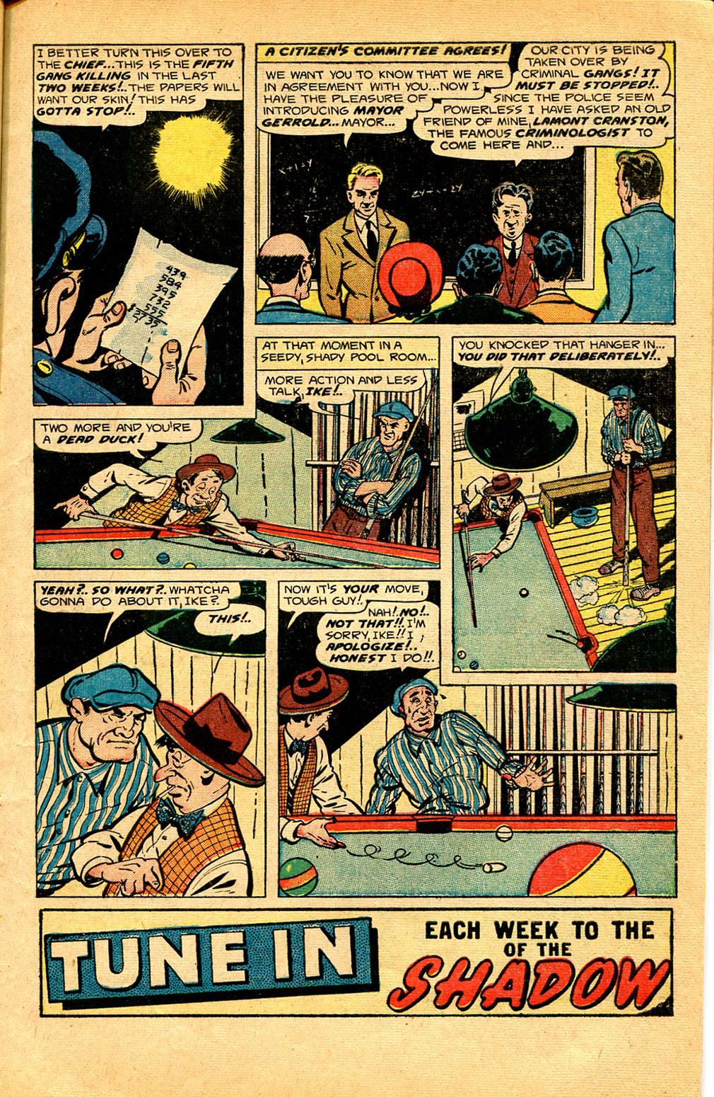 Read online Shadow Comics comic -  Issue #97 - 5