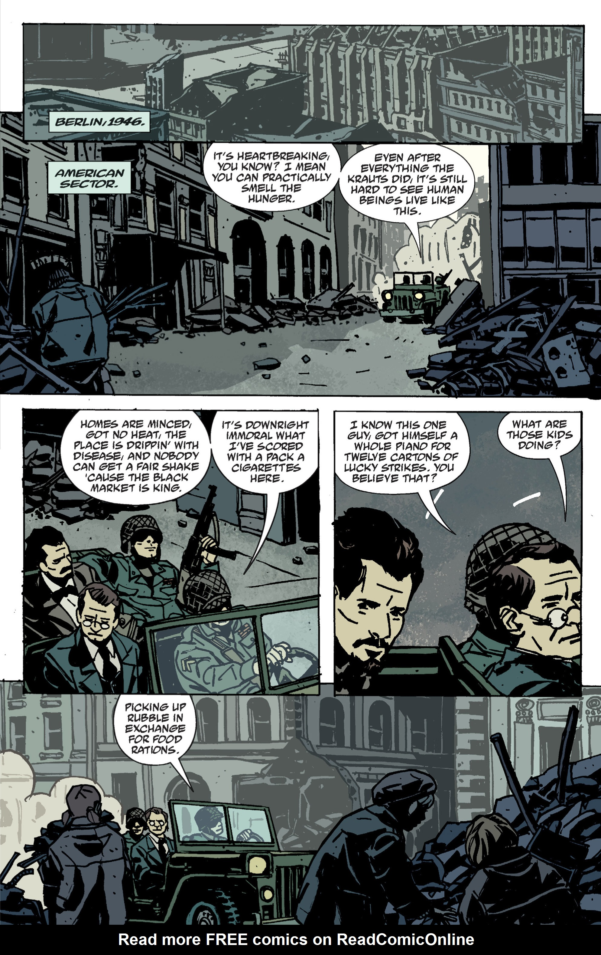 Read online B.P.R.D. (2003) comic -  Issue # TPB 9 - 13