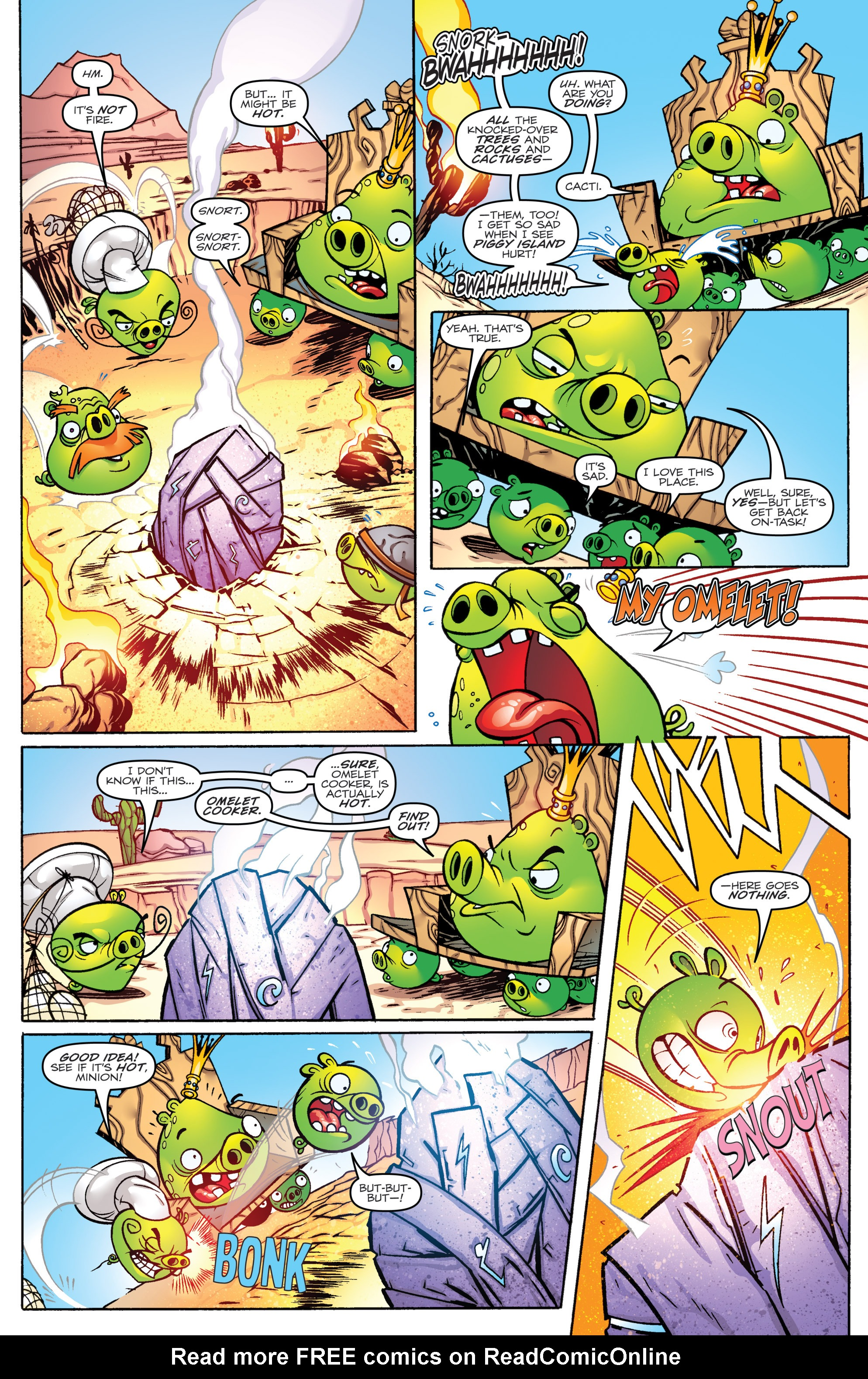 Read online Angry Birds Transformers comic -  Issue #1 - 13