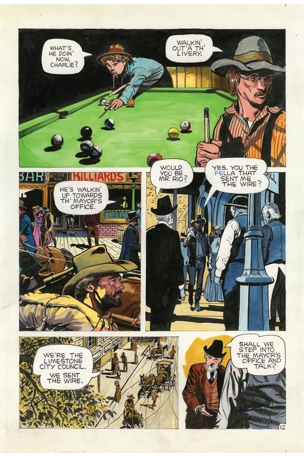 Read online Doug Wildey's Rio: The Complete Saga comic -  Issue # TPB (Part 1) - 78