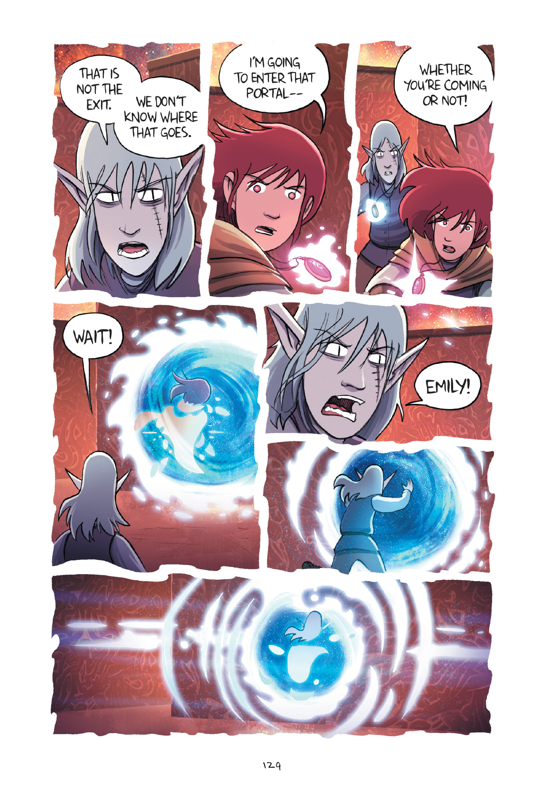 Read online Amulet comic -  Issue #7 - 129