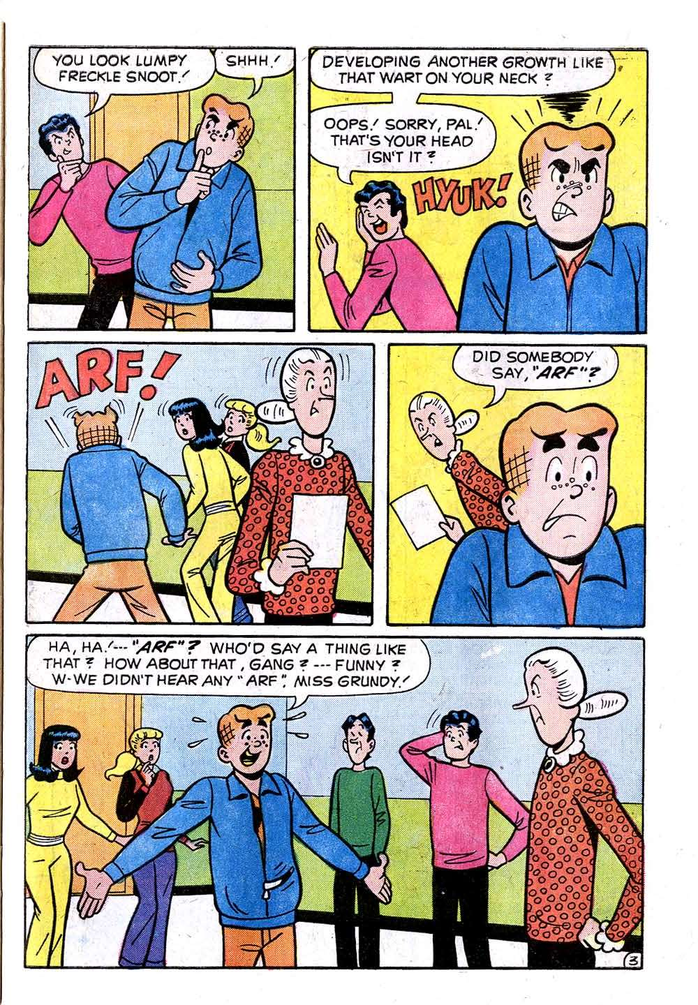 Read online Archie (1960) comic -  Issue #233 - 31