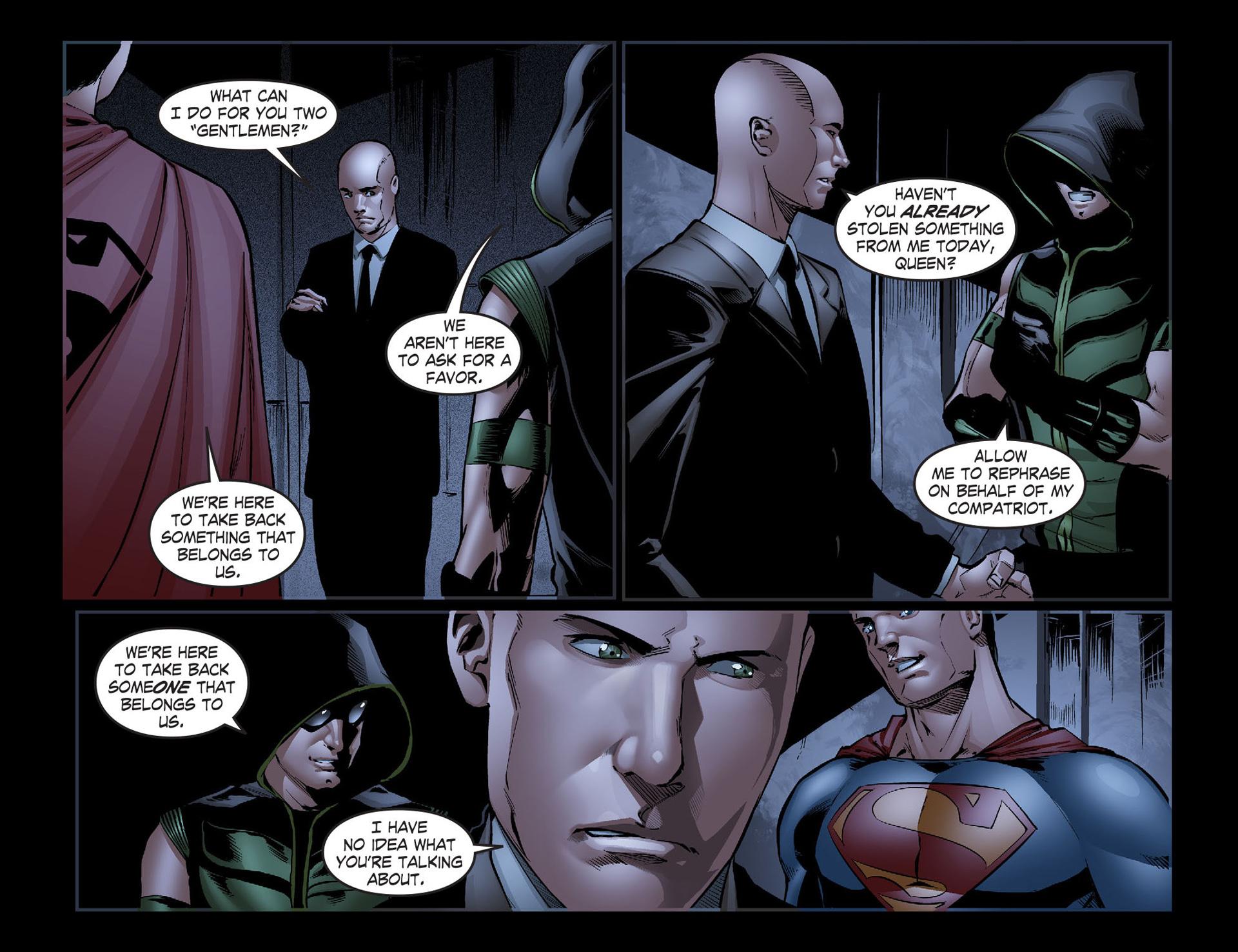 Read online Smallville: Season 11 comic -  Issue #40 - 10