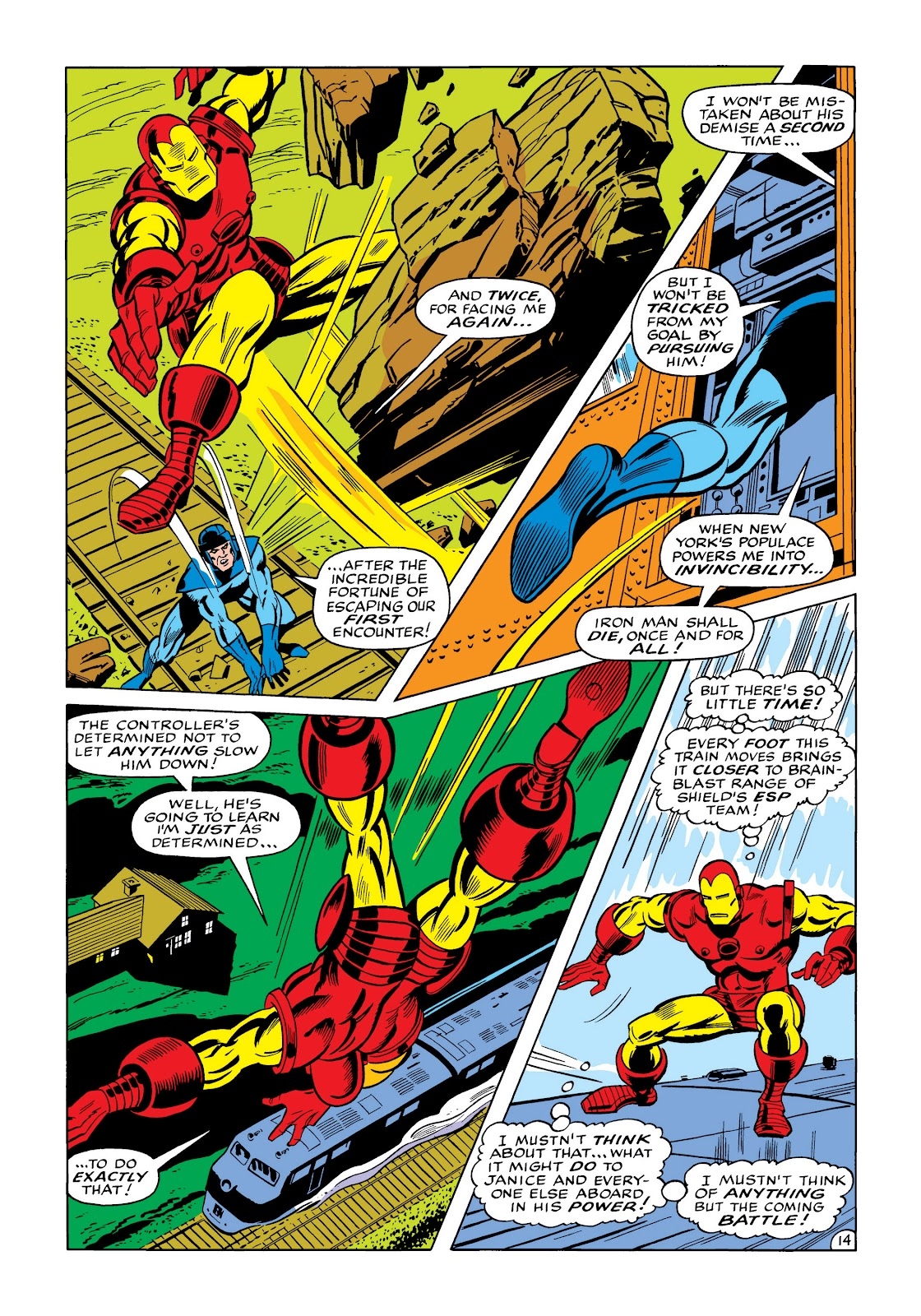 Read online Marvel Masterworks: The Invincible Iron Man comic -  Issue # TPB 5 (Part 3) - 52