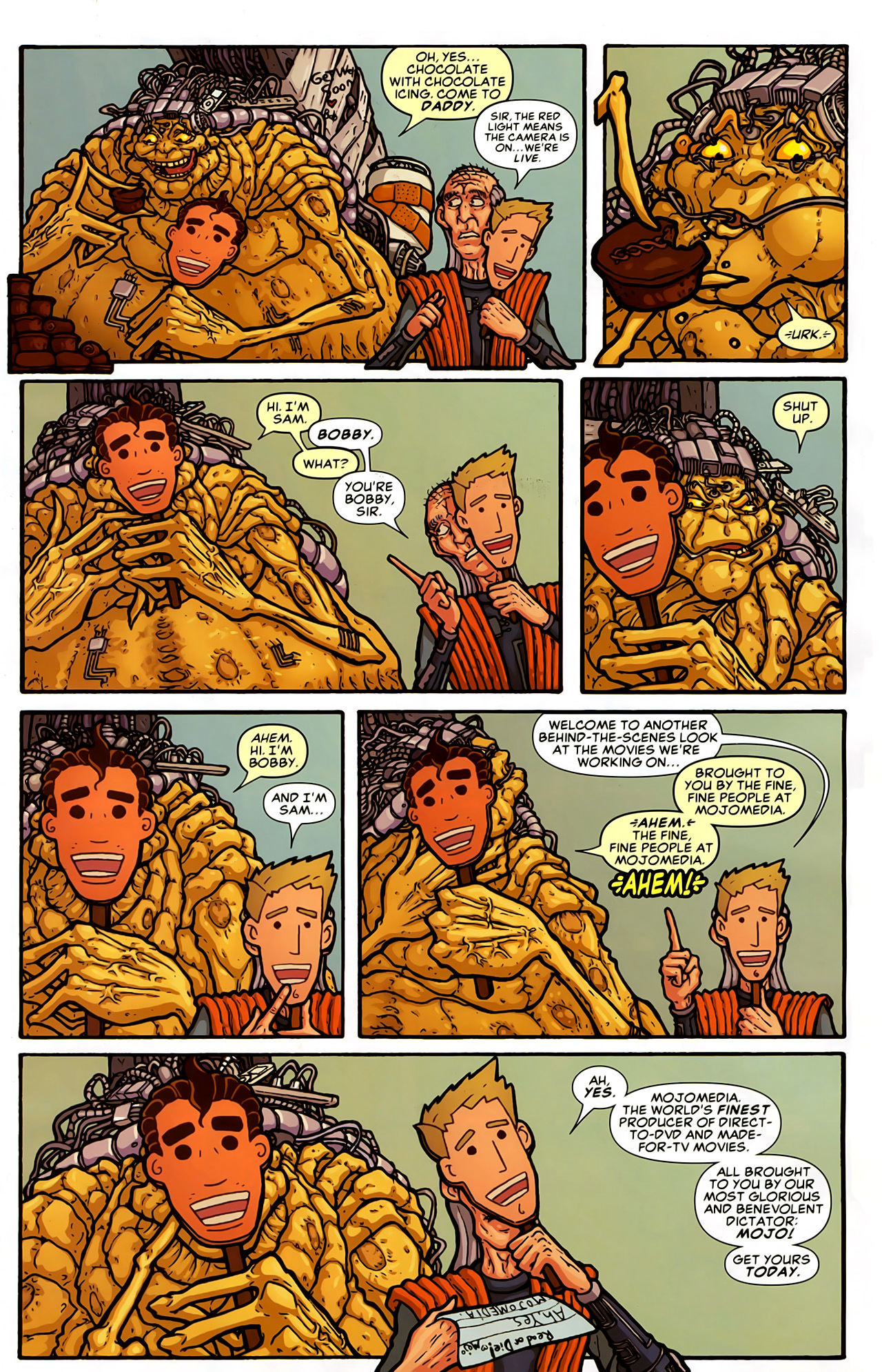 Read online Astonishing Tales (2009) comic -  Issue #5 - 27