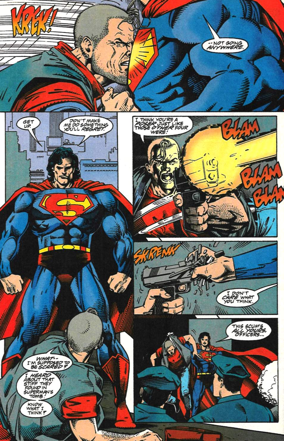 Read online Adventures of Superman (1987) comic -  Issue #517 - 5