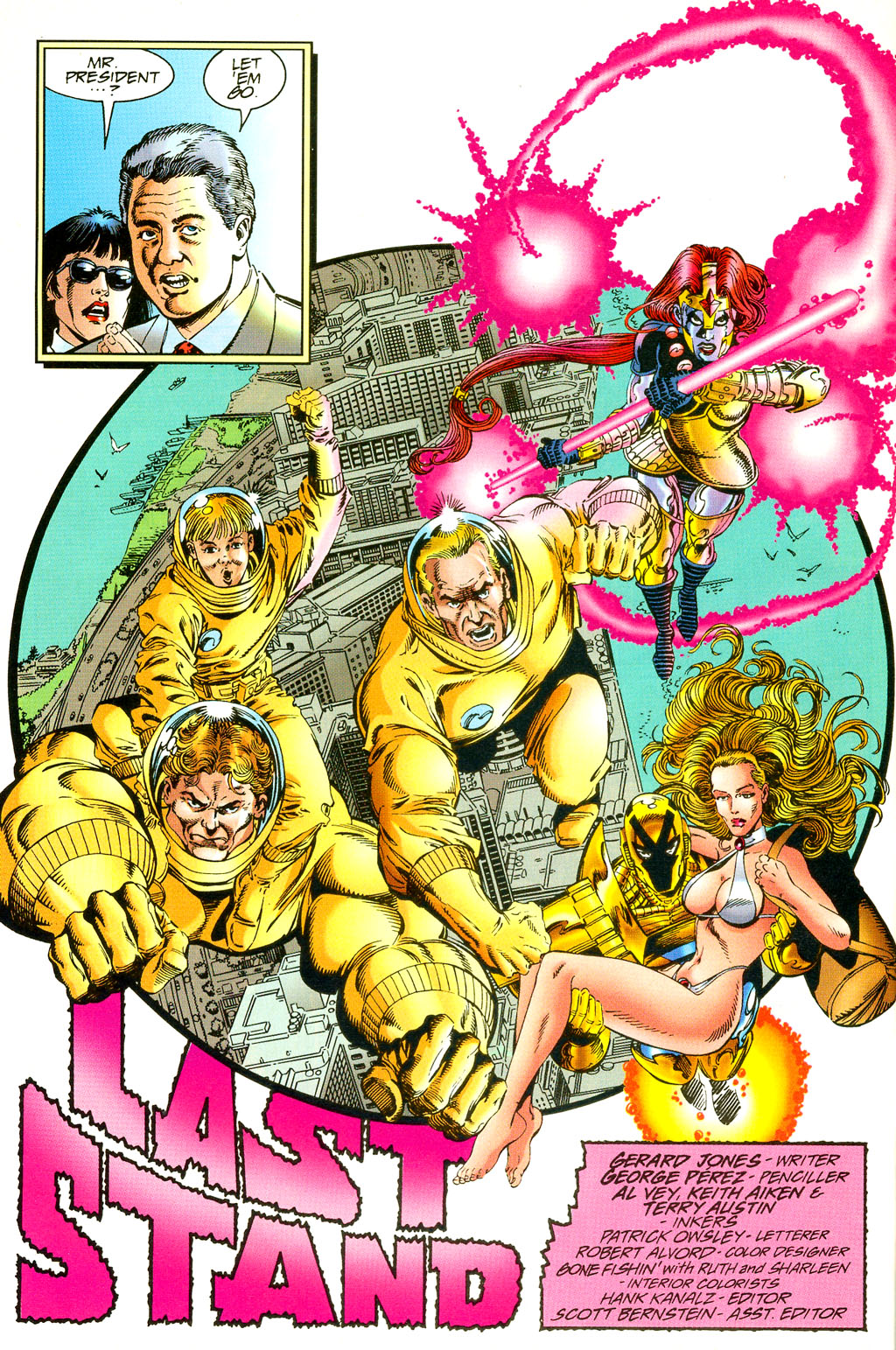 Read online UltraForce (1994) comic -  Issue #5 - 7