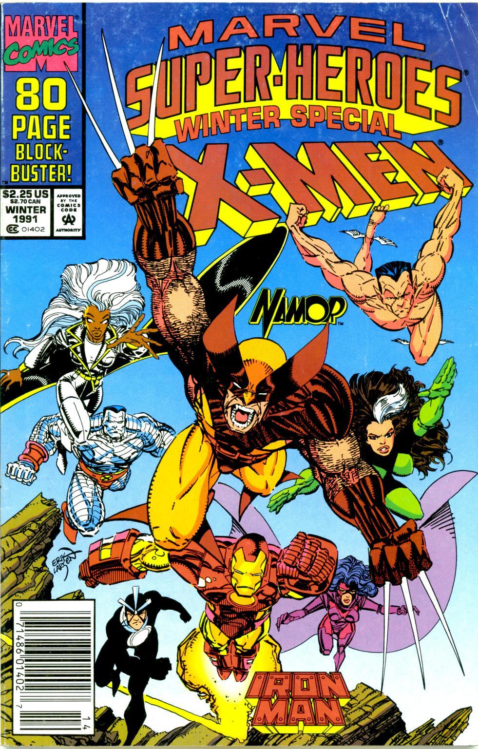 Marvel Super-Heroes (1990) 8 Page 1