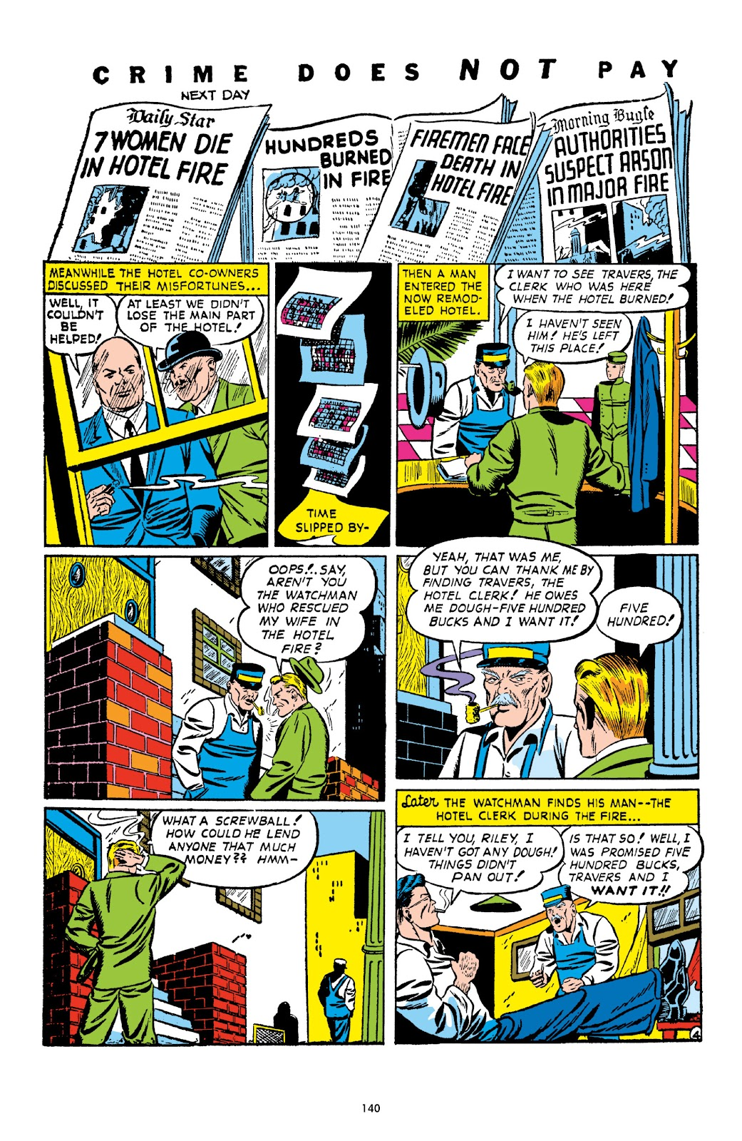 Read online Crime Does Not Pay Archives comic -  Issue # TPB 1 (Part 2) - 43