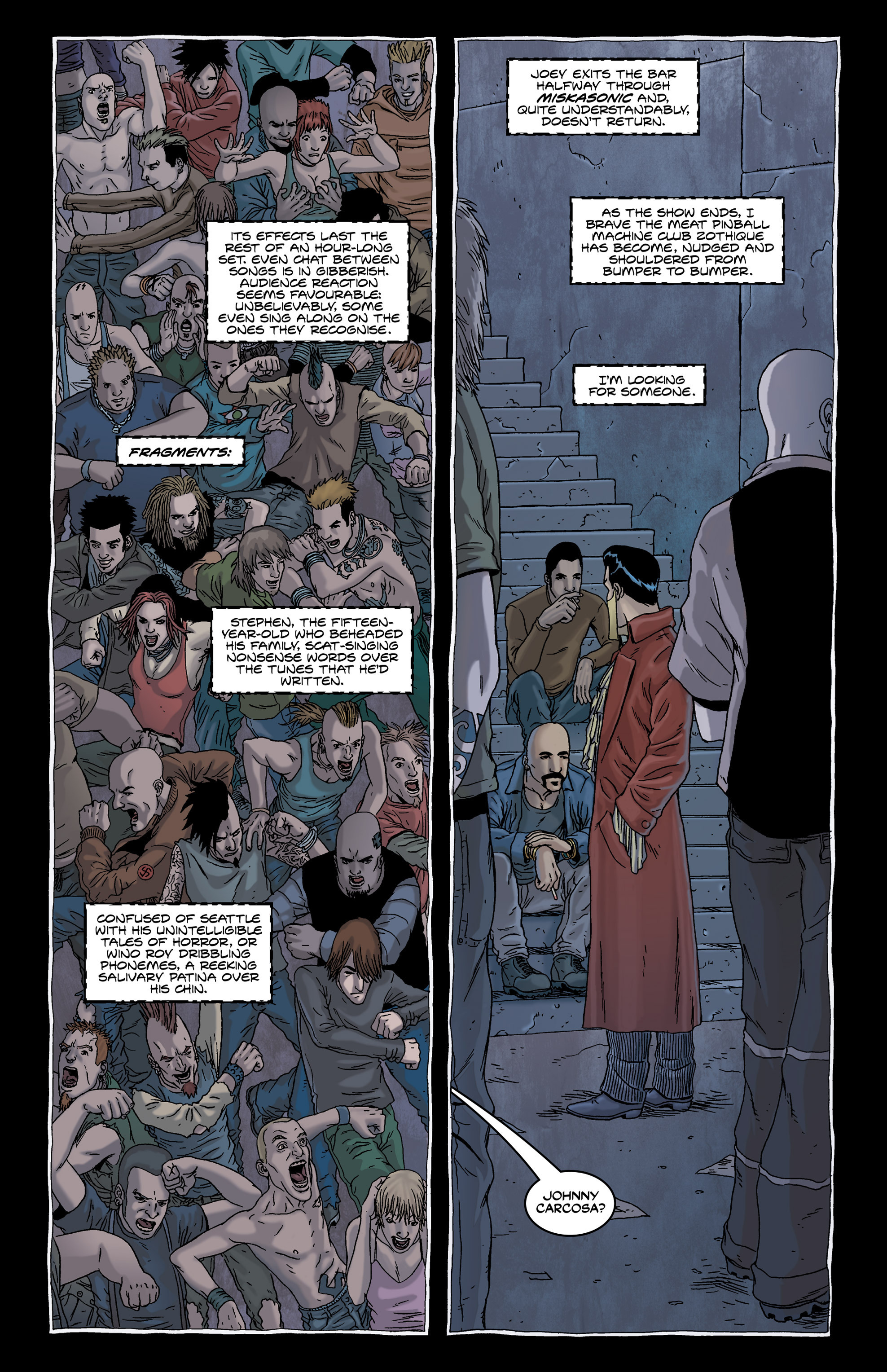 Read online Alan Moore's The Courtyard comic -  Issue # TPB - 23