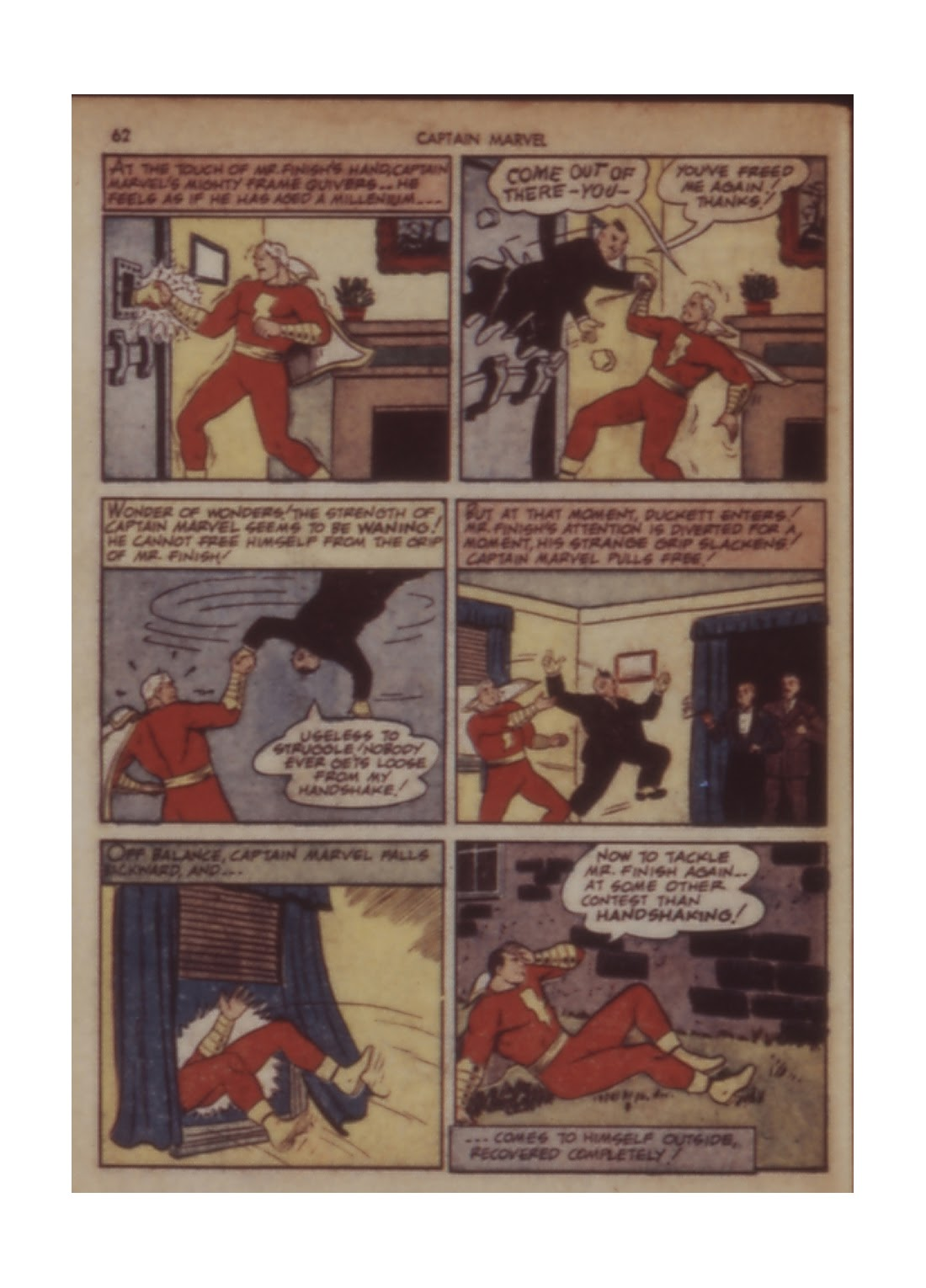 Captain Marvel Adventures issue 11 - Page 62
