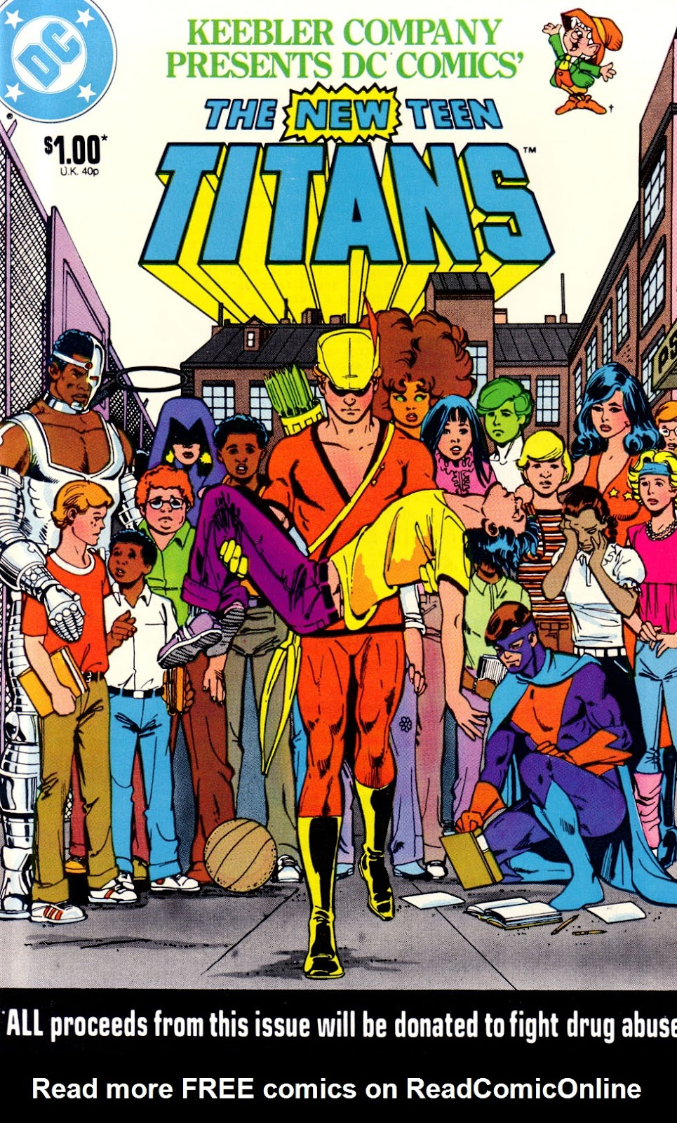 Read online The New Teen Titans (Drug Awareness Specials) comic -  Issue #2 - 1