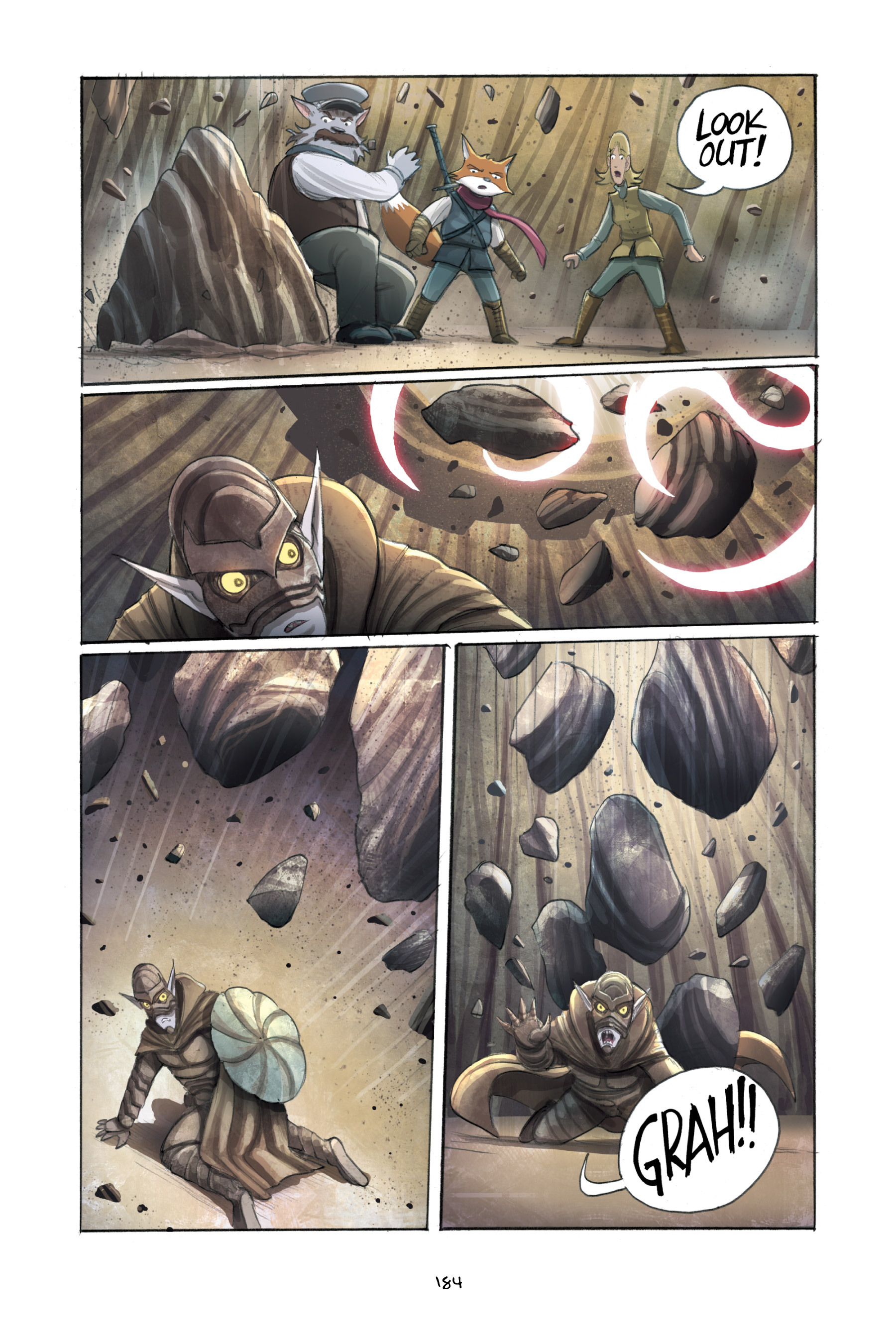 Read online Amulet comic -  Issue #3 - 180