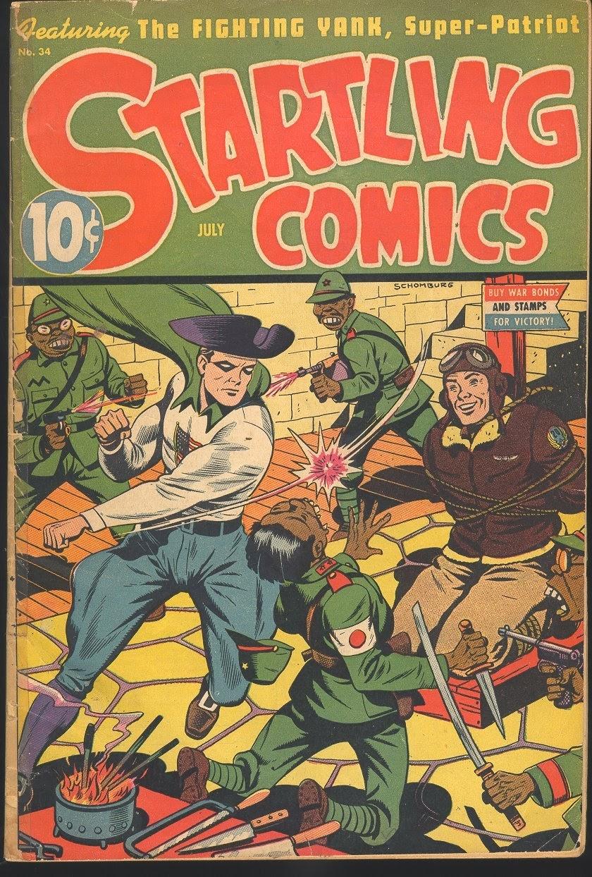 Startling Comics 34 Page 1