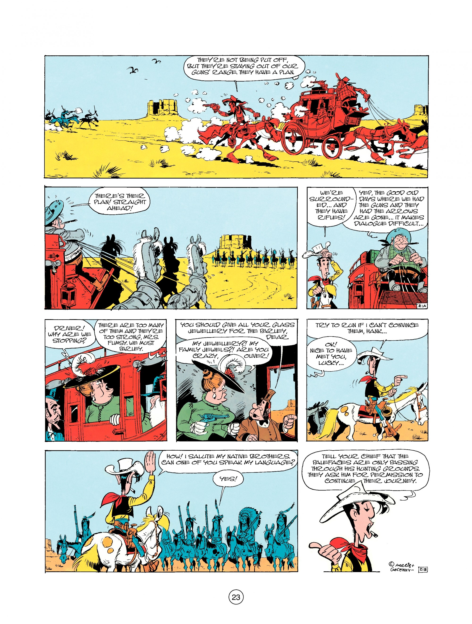Read online A Lucky Luke Adventure comic -  Issue #25 - 23
