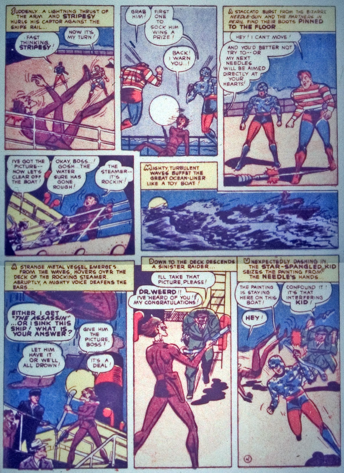 Star Spangled Comics (1941) issue 7 - Page 57