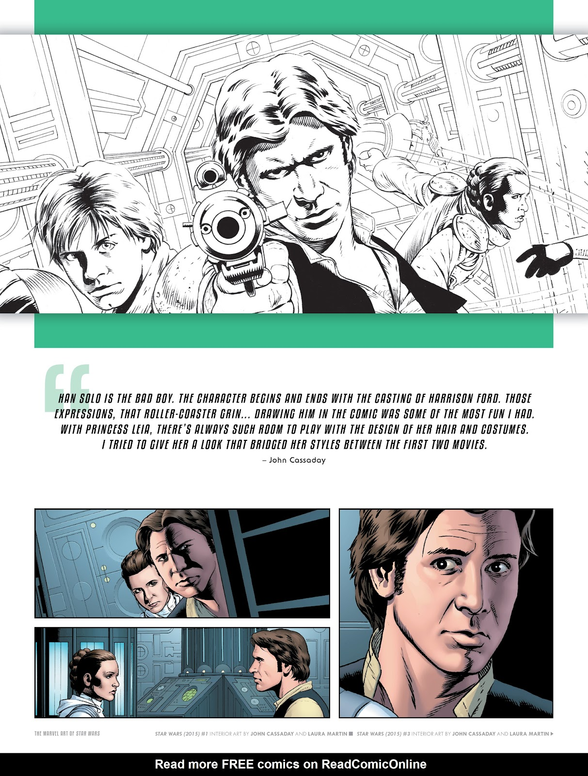 Read online The Marvel Art of Star Wars comic -  Issue # TPB (Part 1) - 23