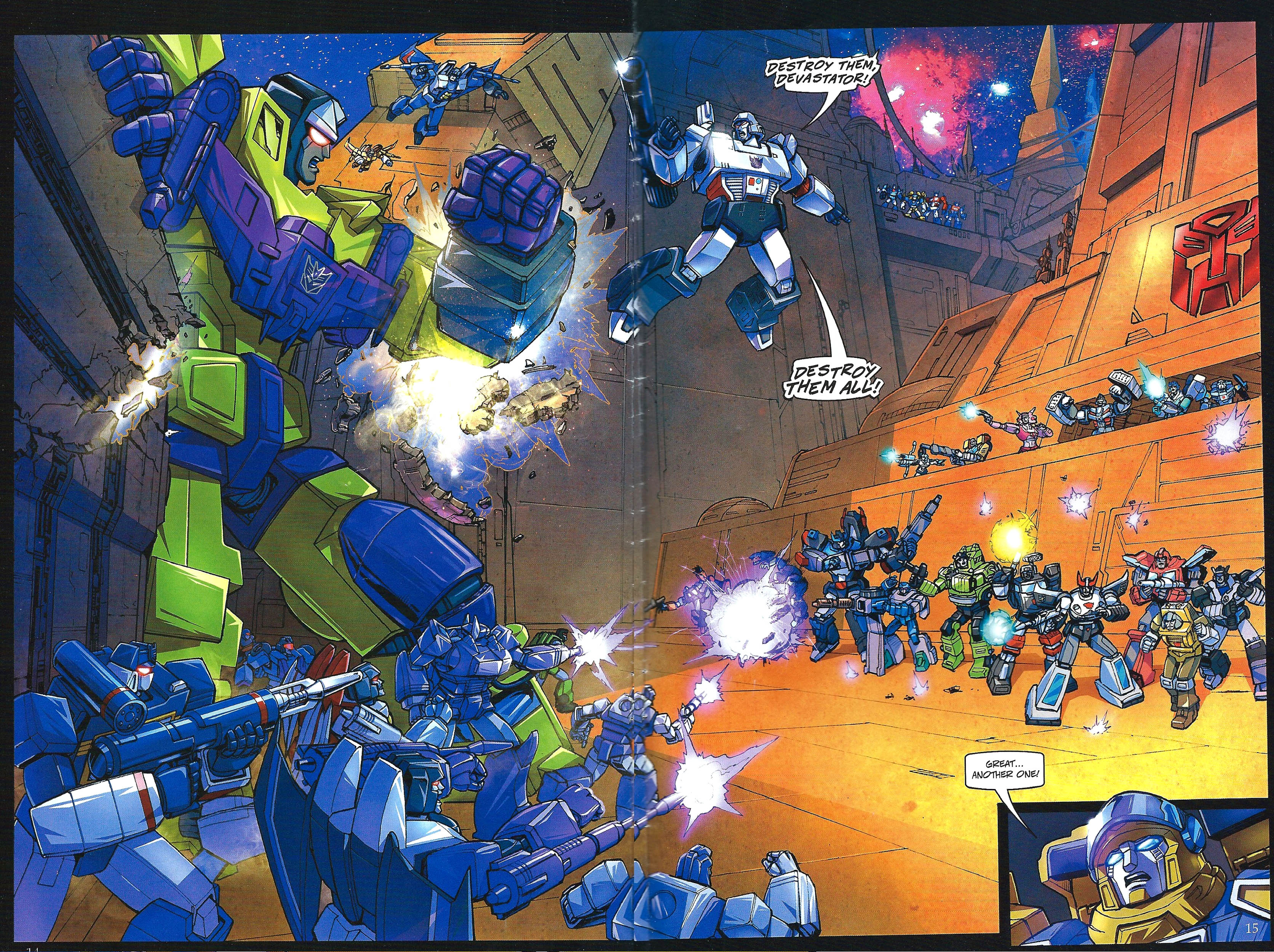Read online Transformers: Collectors' Club comic -  Issue #41 - 14