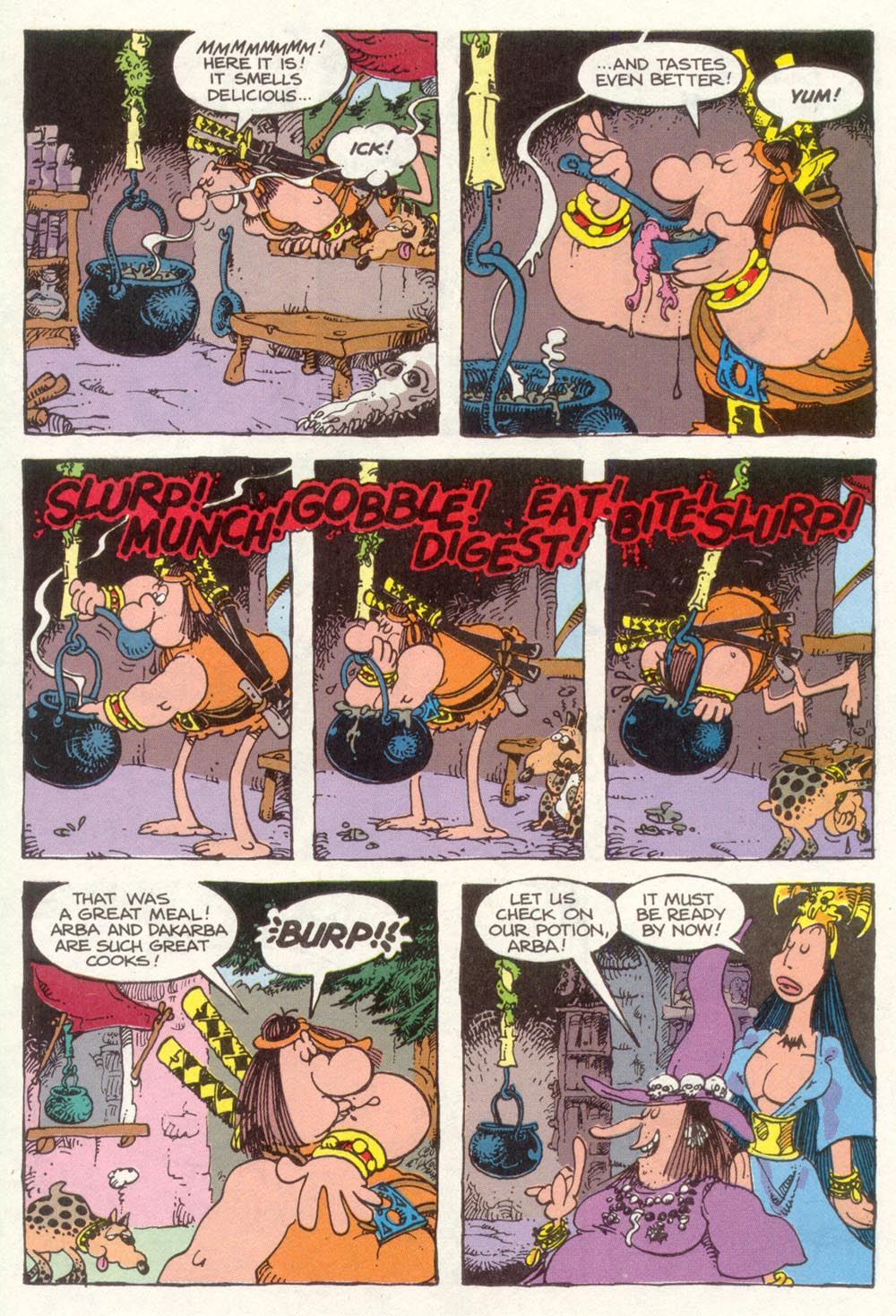 Read online Sergio Aragonés Groo the Wanderer comic -  Issue #92 - 30