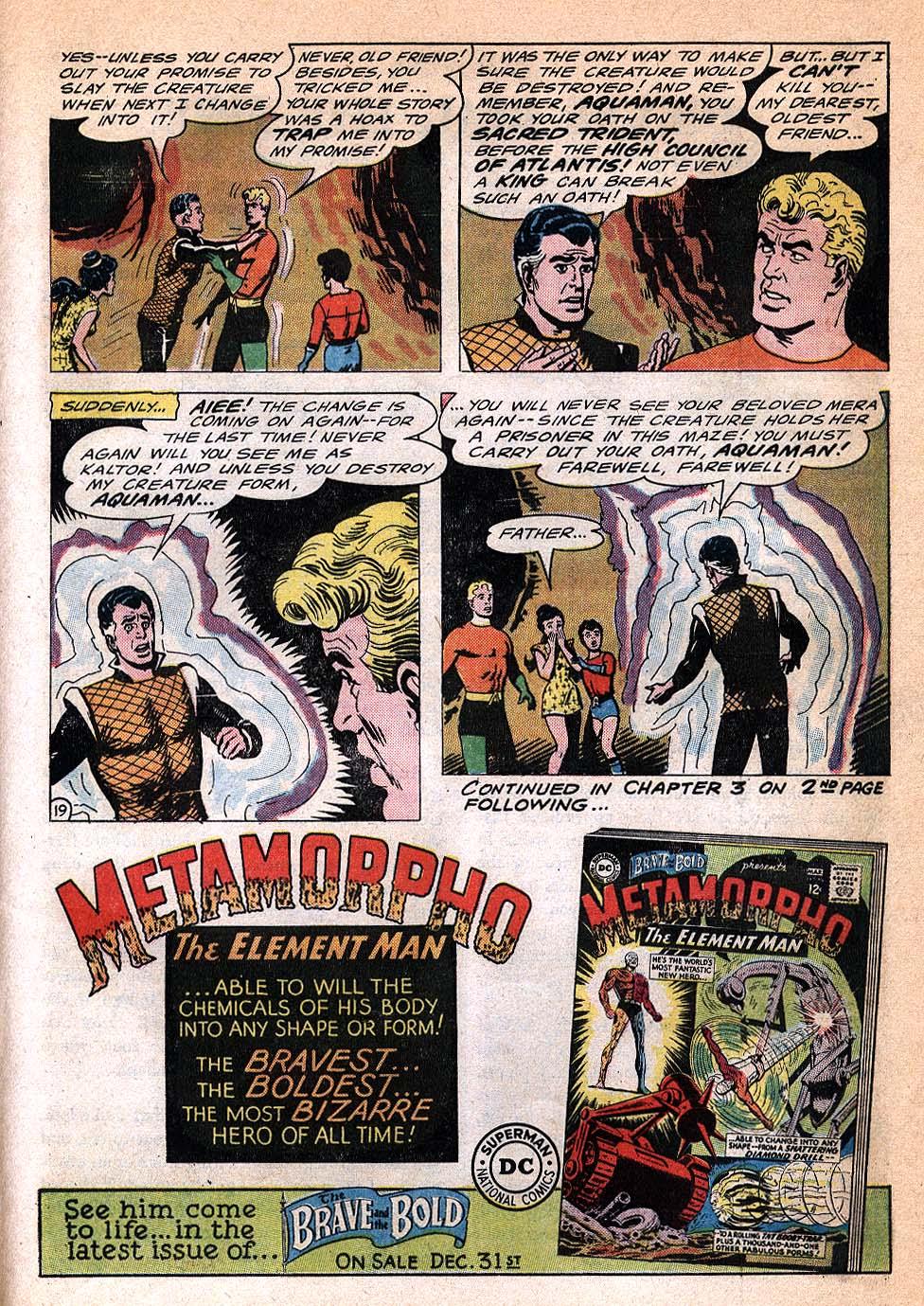 Read online Aquaman (1962) comic -  Issue #20 - 25