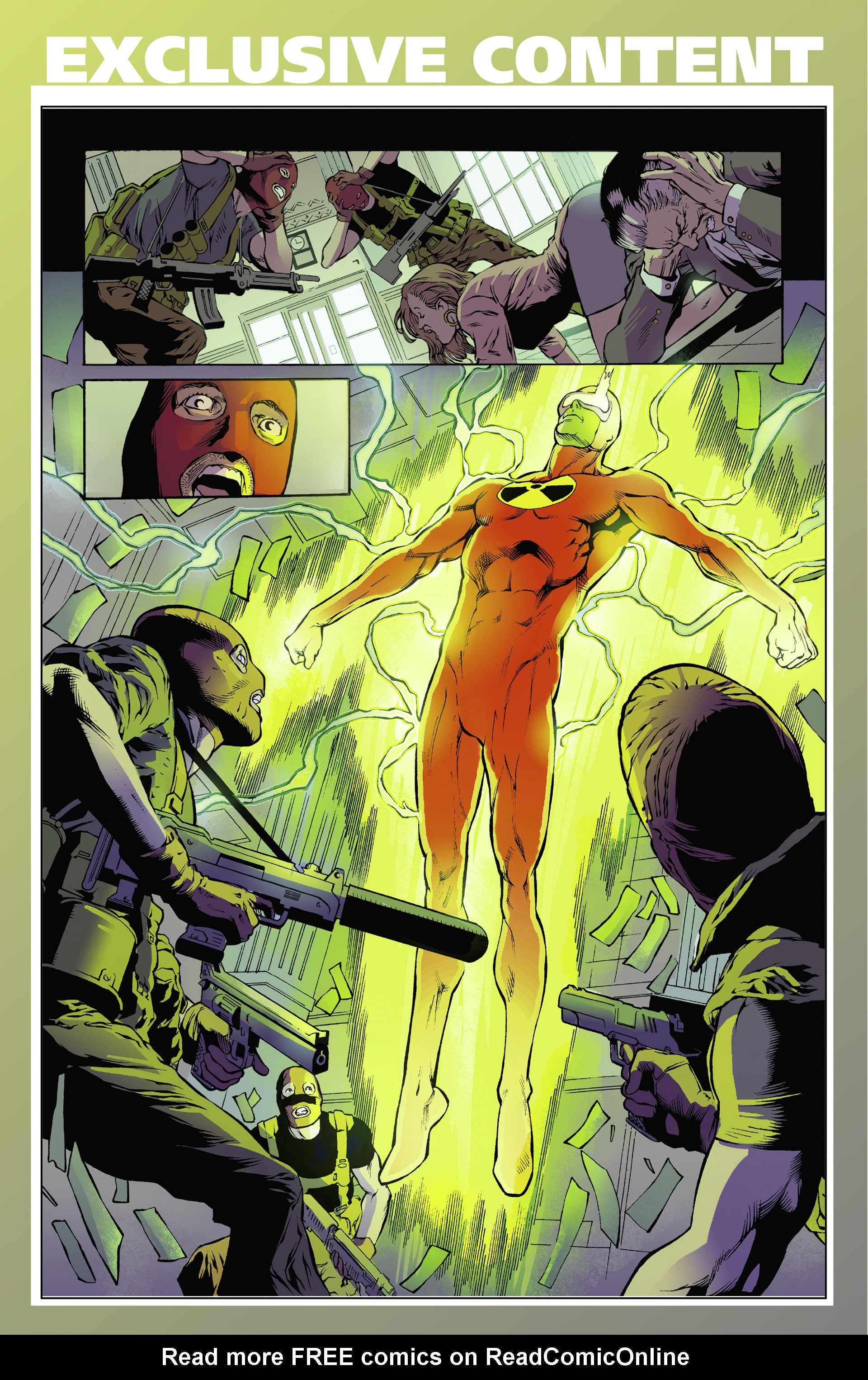 Read online Solar: Man of the Atom (2014) comic -  Issue #1 - 33