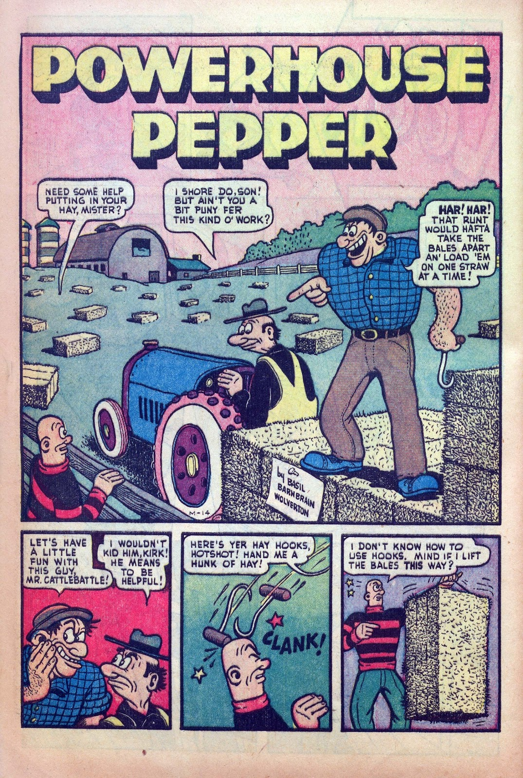 Read online Joker Comics comic -  Issue #25 - 40