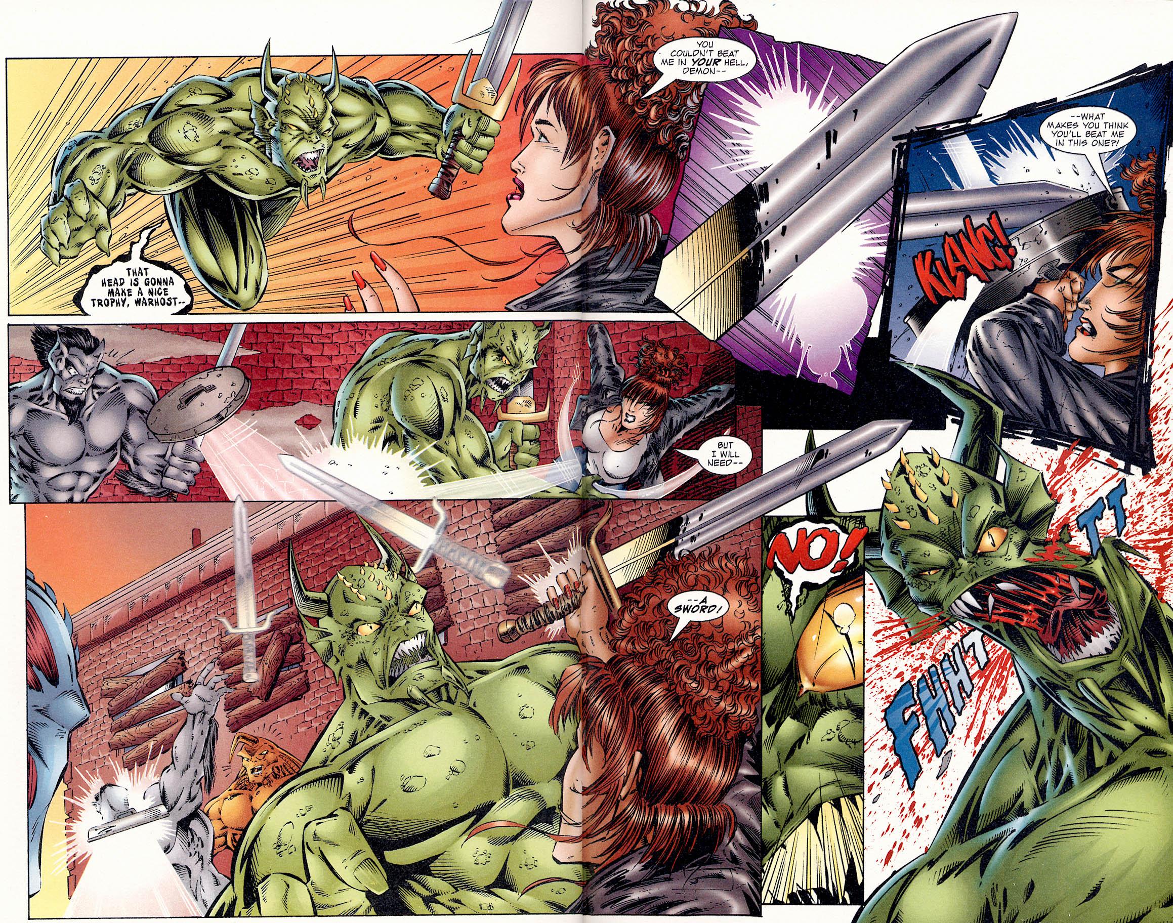 Read online Avengelyne (1995) comic -  Issue #1 - 19