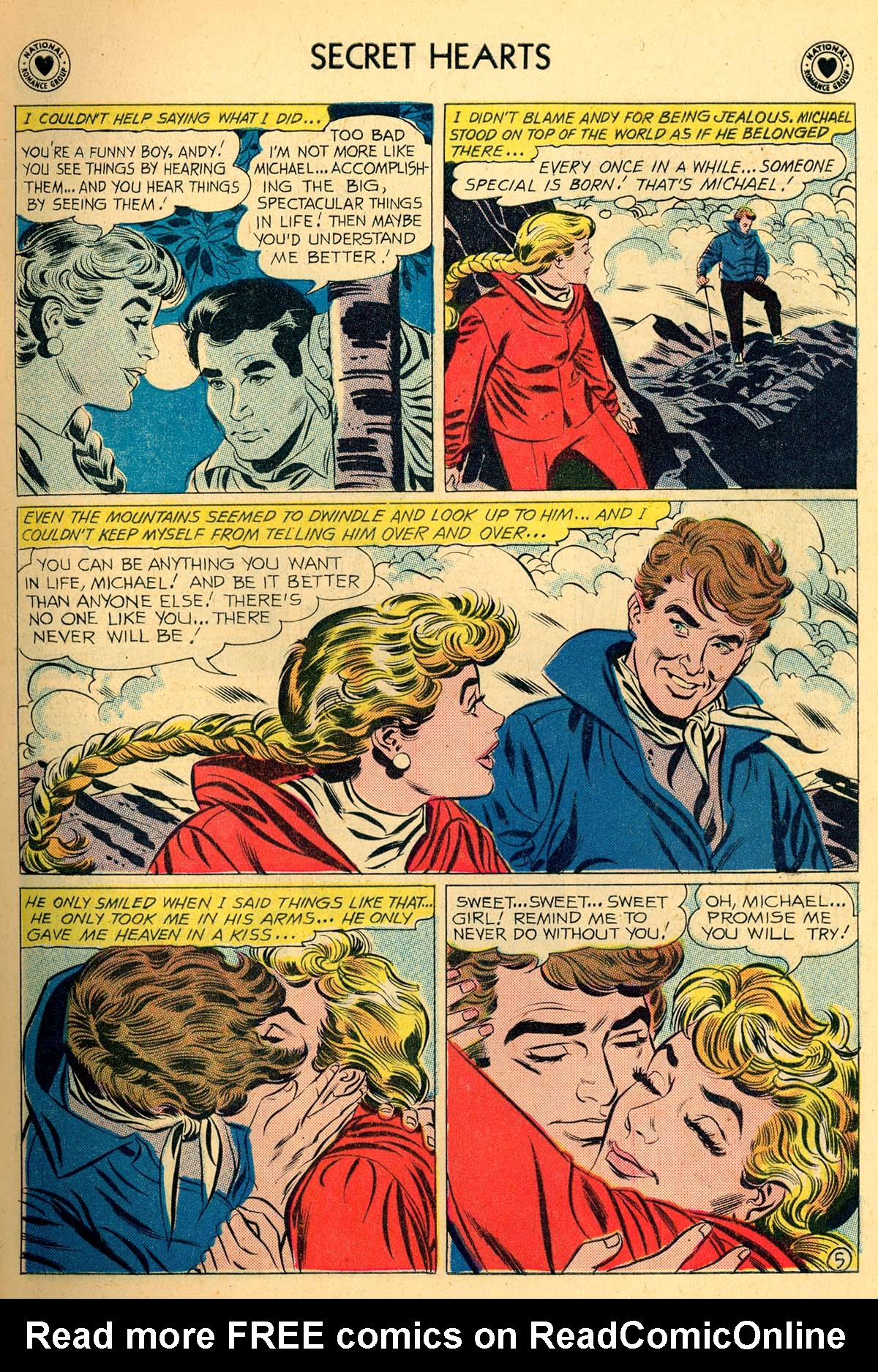 Read online Secret Hearts comic -  Issue #66 - 7