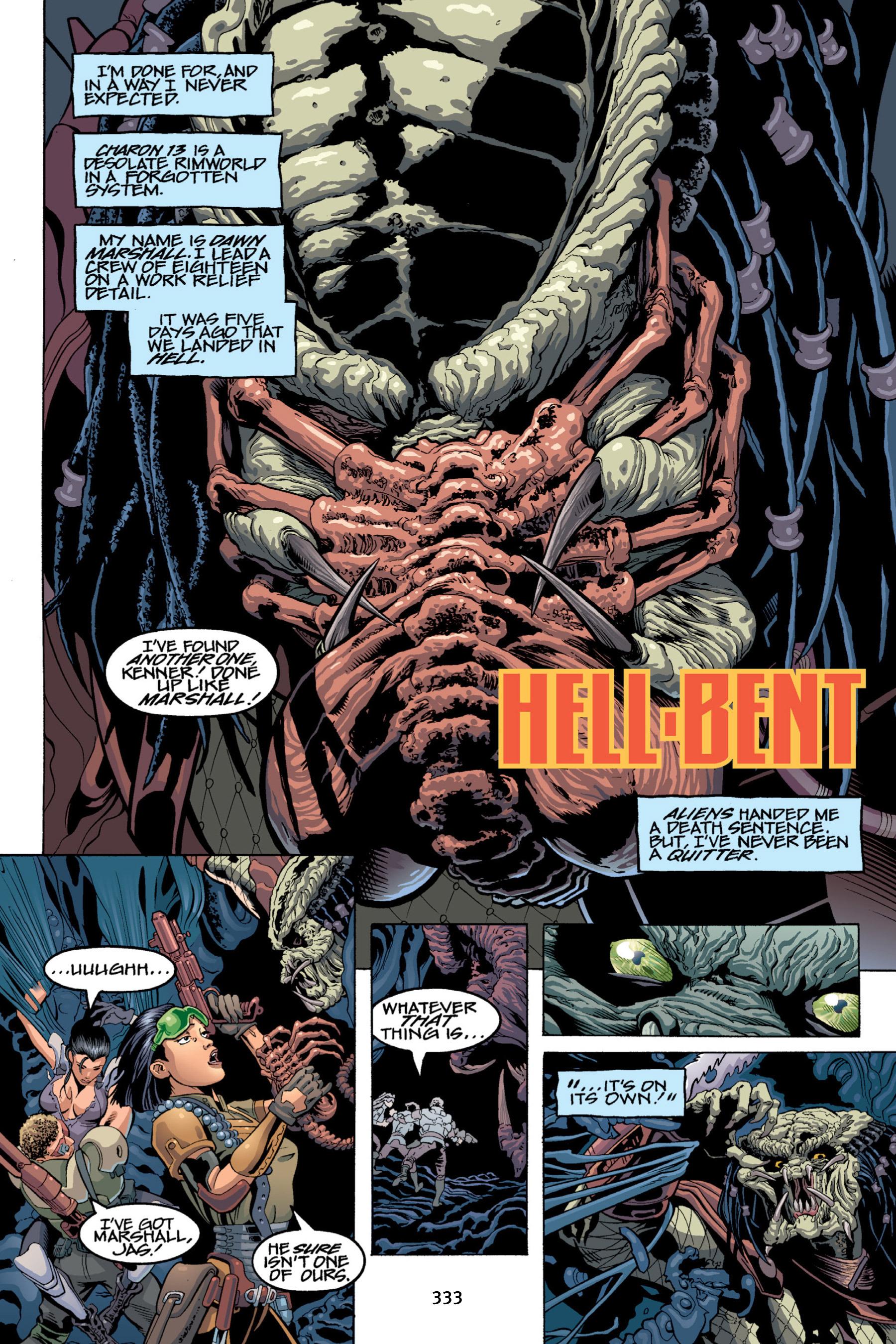 Read online Aliens vs. Predator Omnibus comic -  Issue # _TPB 2 Part 3 - 108