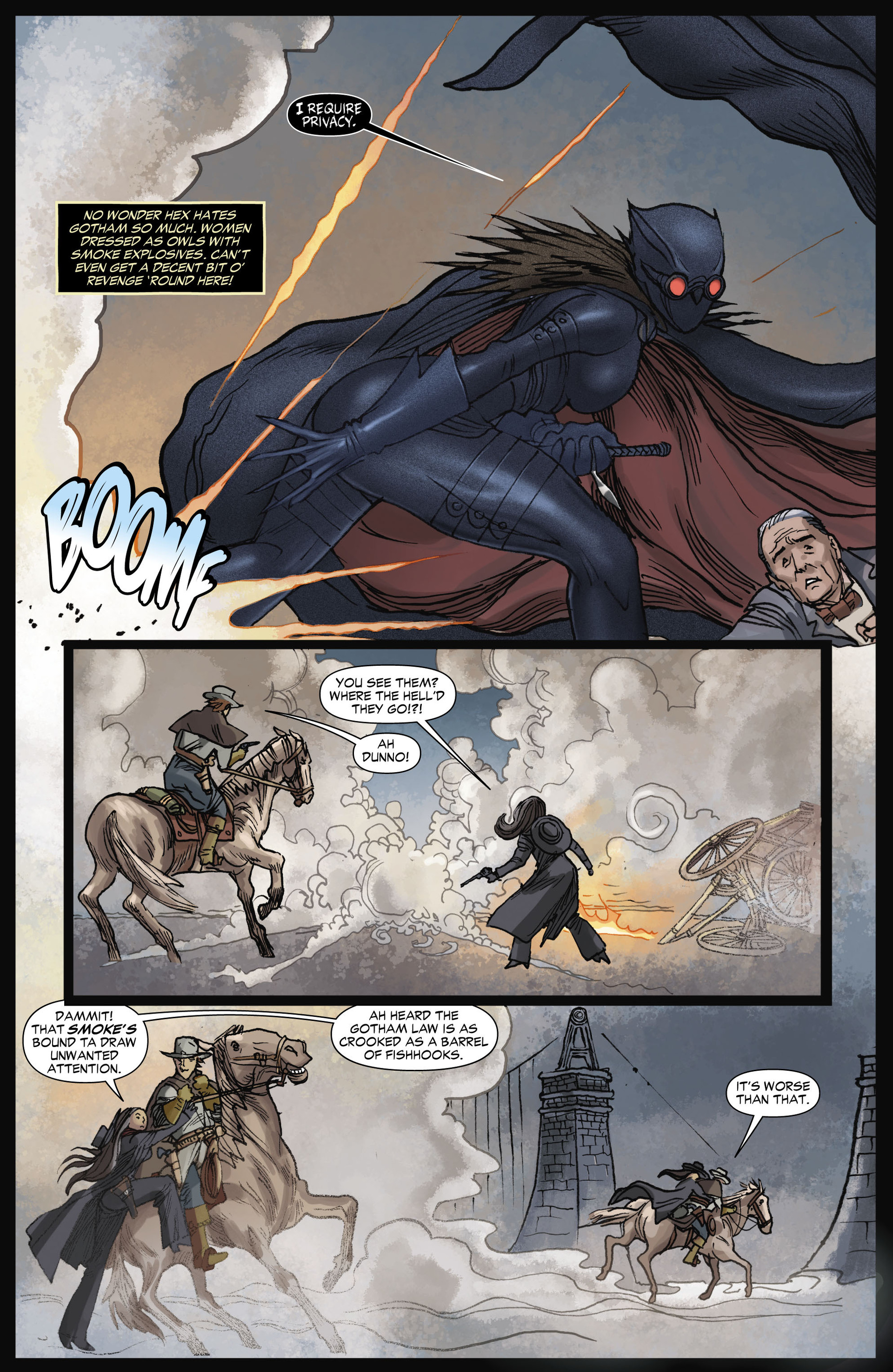 Read online All-Star Western (2011) comic -  Issue #11 - 9
