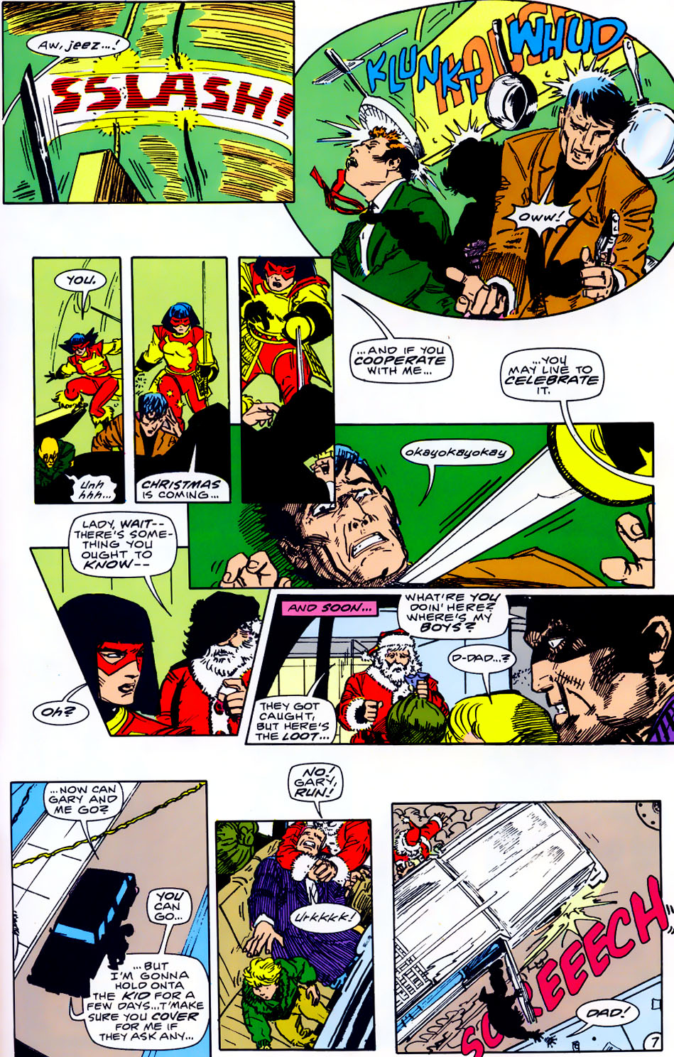 Read online Adventures of the Outsiders comic -  Issue #43 - 28