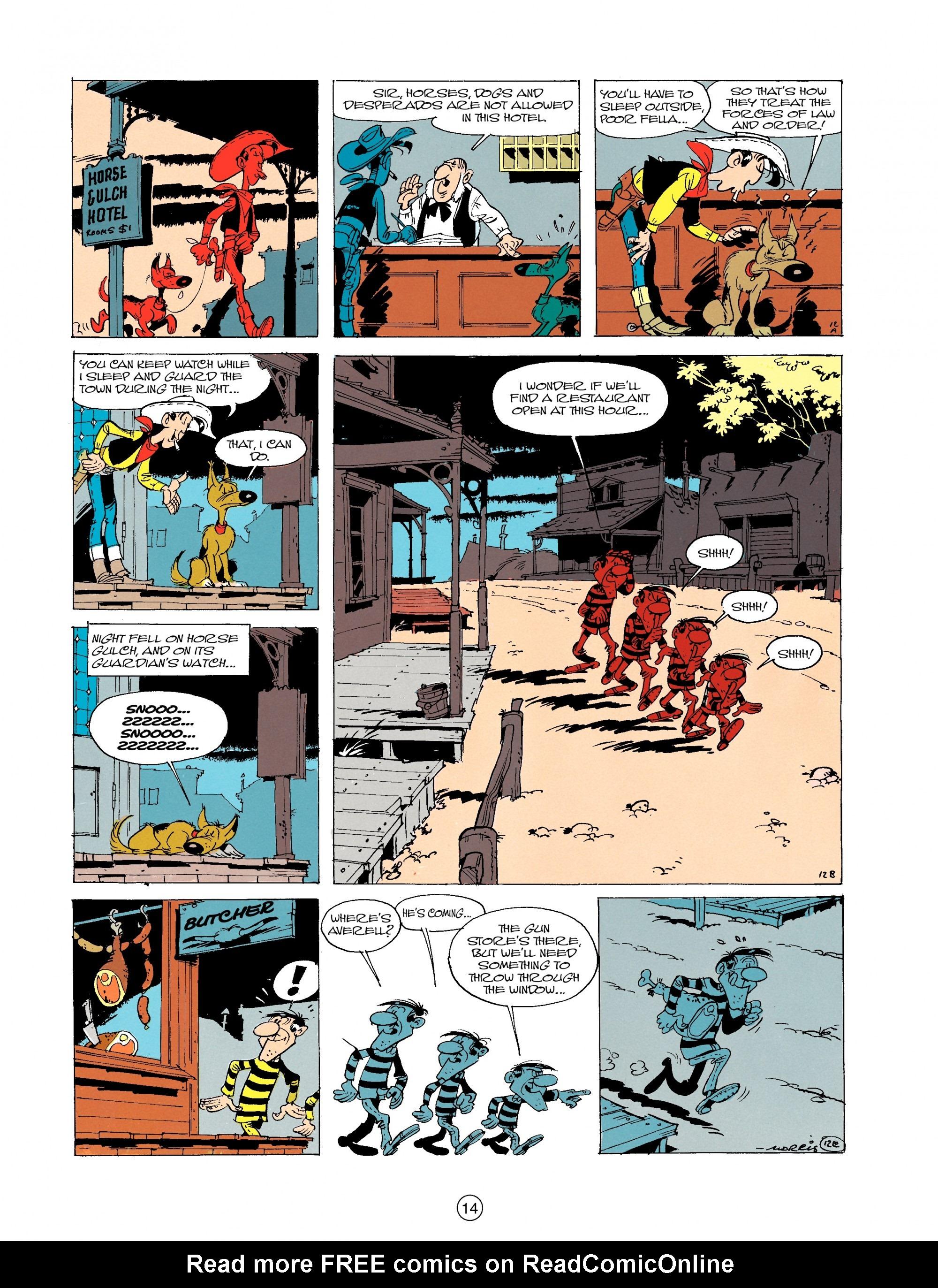 Read online A Lucky Luke Adventure comic -  Issue #19 - 14