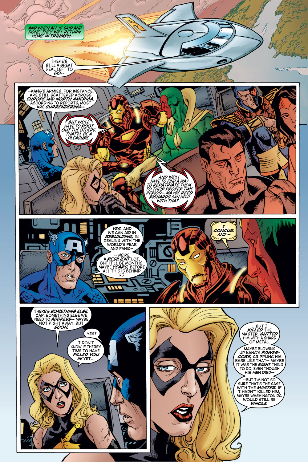 Read online Avengers (1998) comic -  Issue #54 - 11
