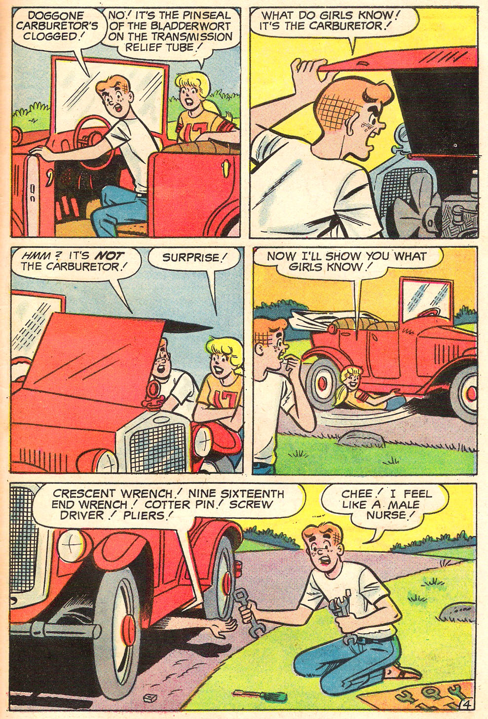 Read online Archie's Girls Betty and Veronica comic -  Issue #155 - 30