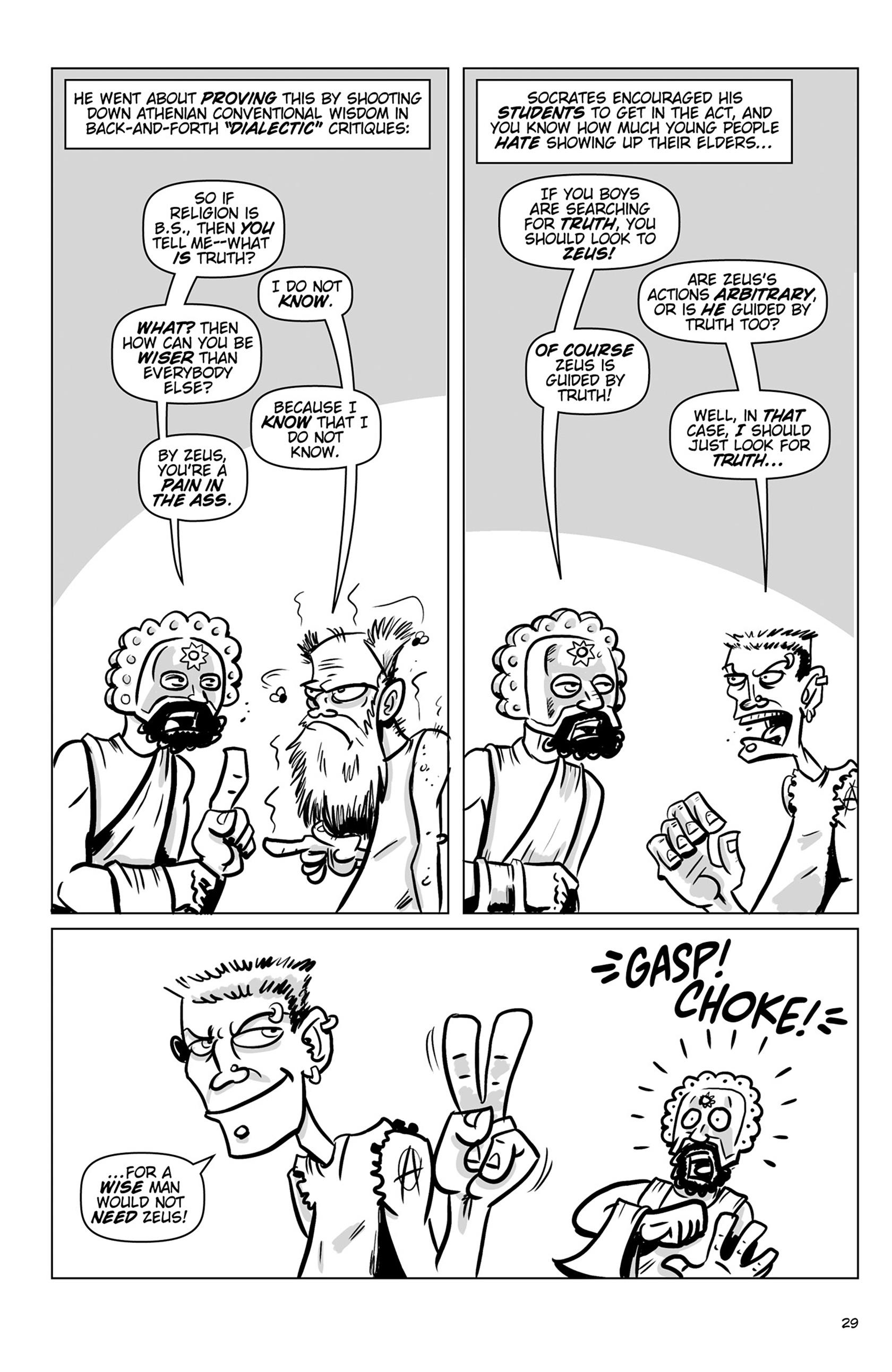Read online Action Philosophers! comic -  Issue #Action Philosophers! TPB (Part 1) - 29