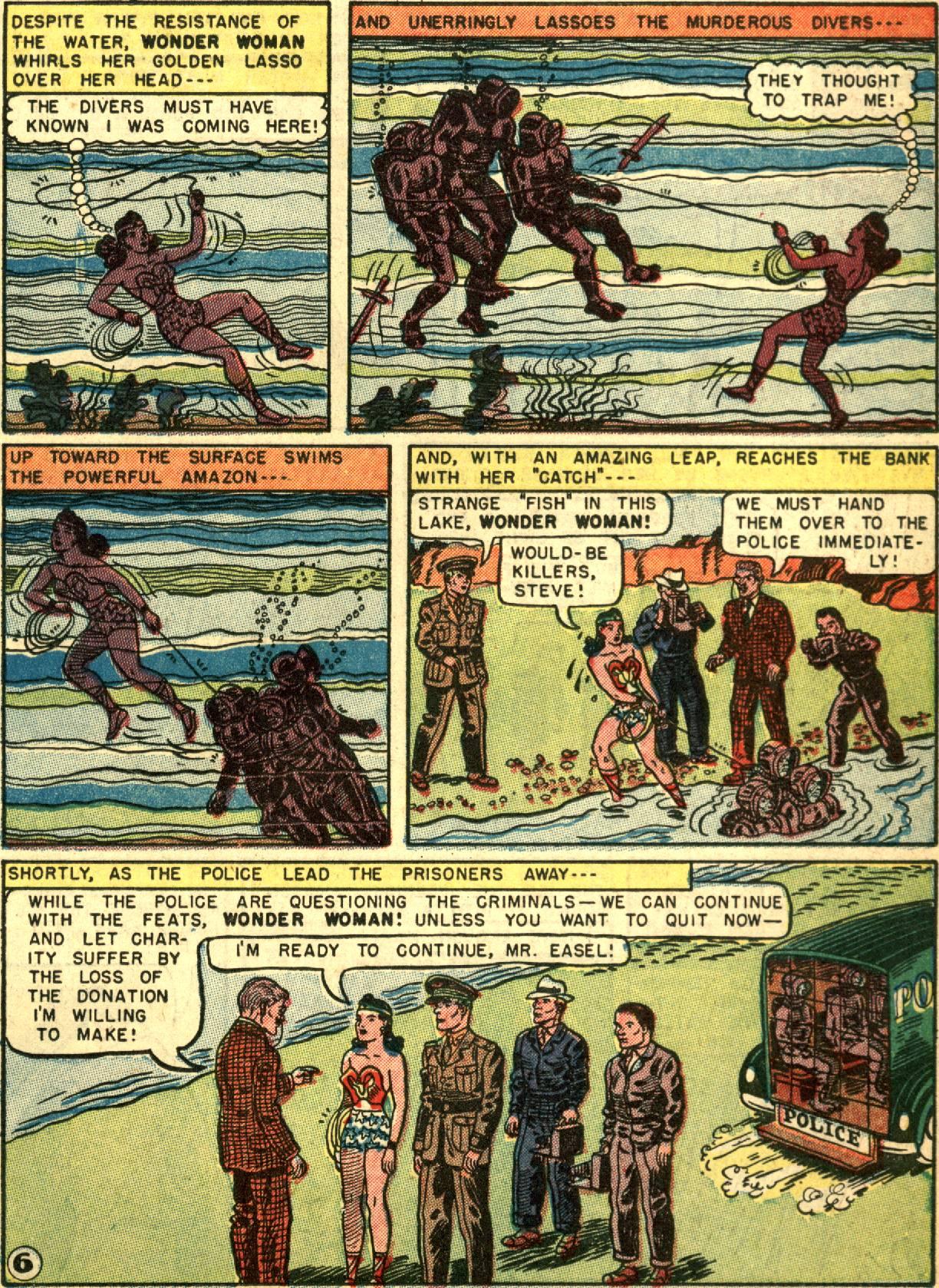 Read online Wonder Woman (1942) comic -  Issue #67 - 19