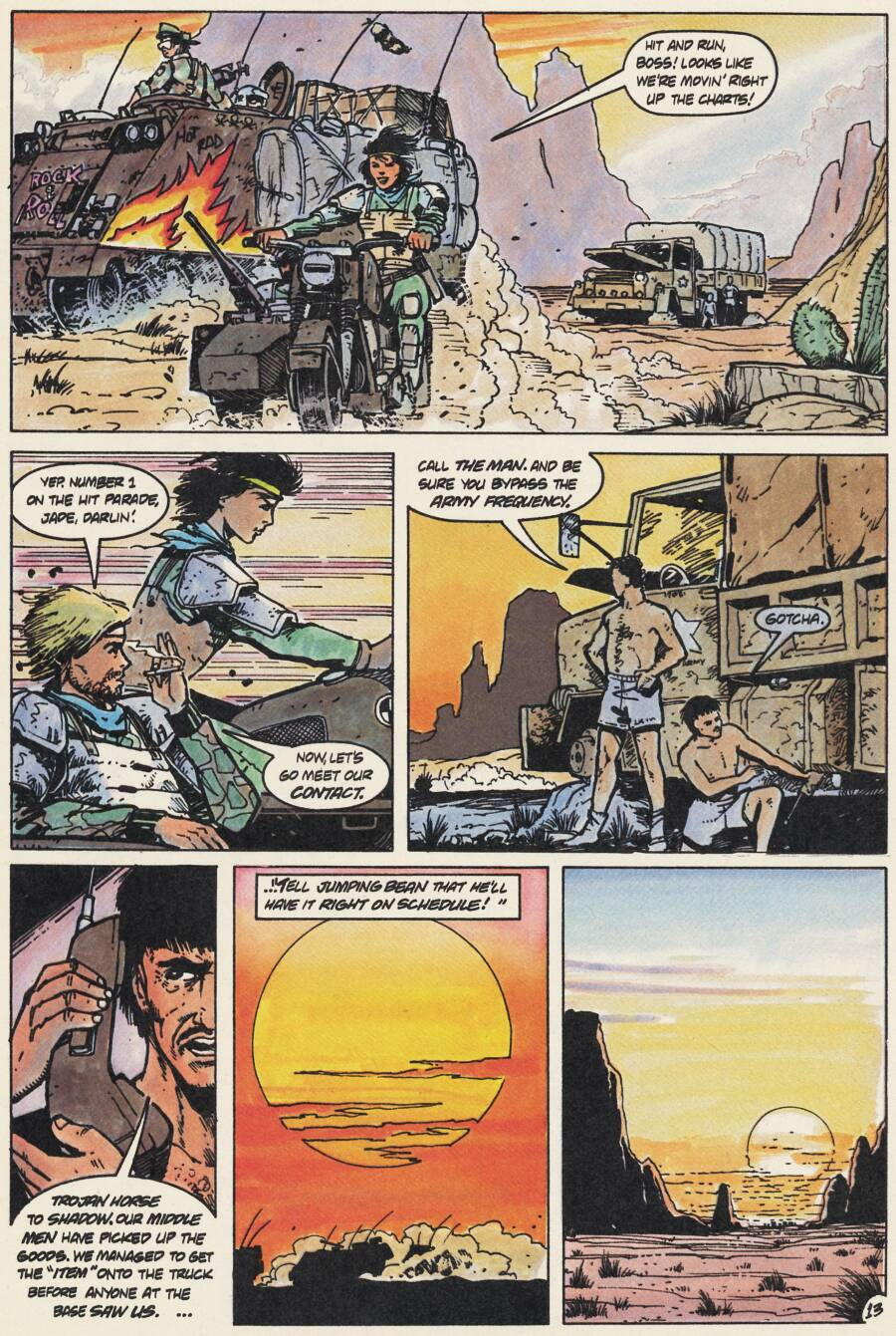 Read online Scout comic -  Issue #15 - 15