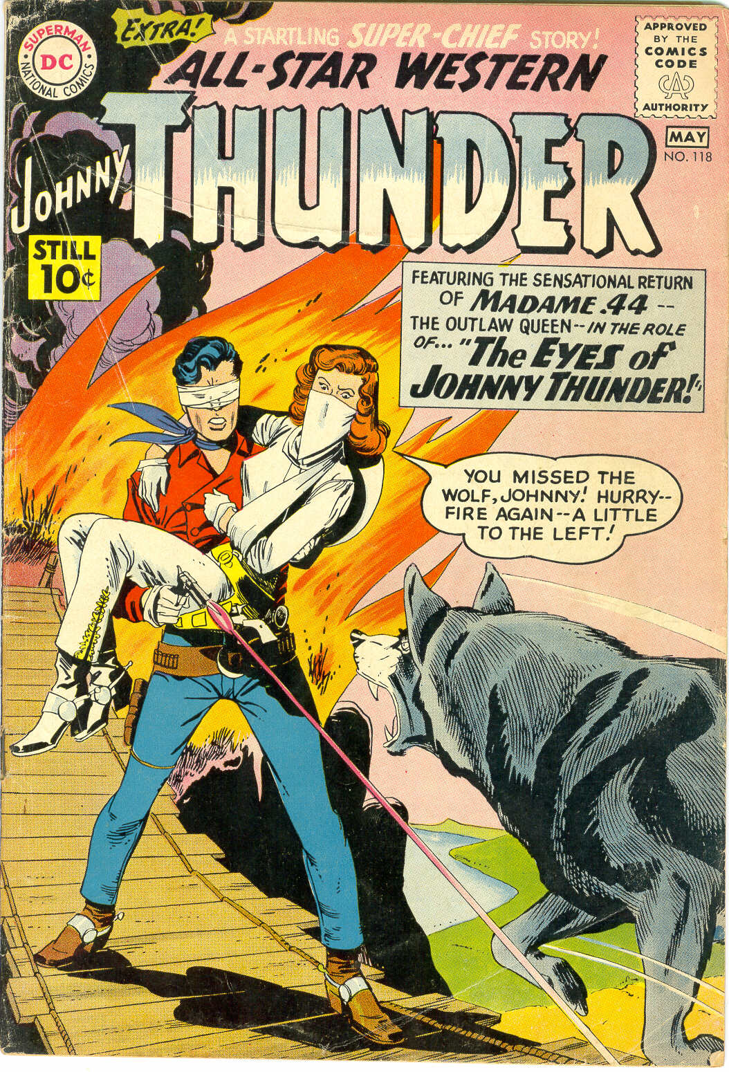 Read online All-Star Western (1951) comic -  Issue #118 - 1