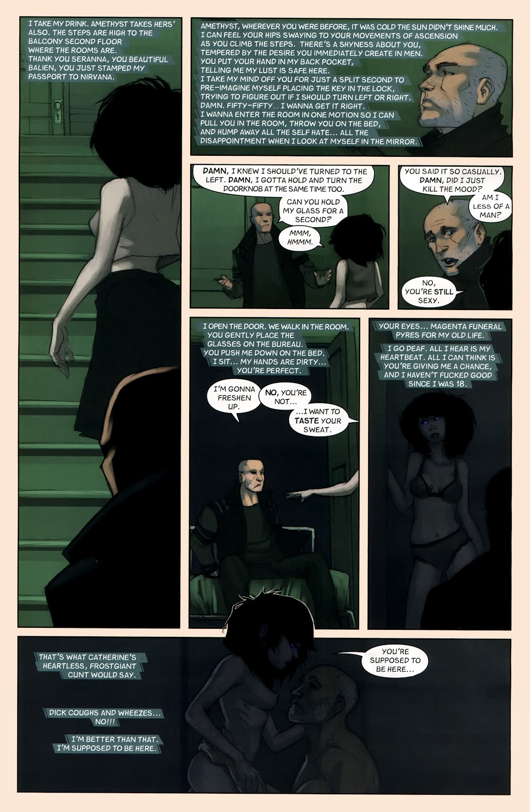 Read online Vescell comic -  Issue #7 - 15