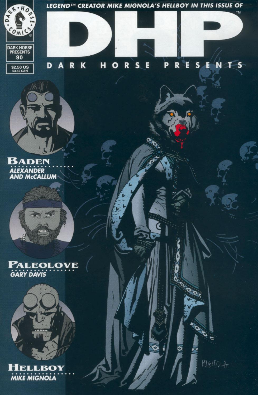 Dark Horse Presents (1986) issue 90 - Page 1