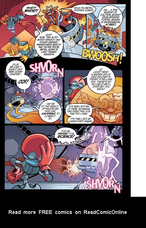 Read online Sonic Comics Spectacular: Speed of Sound comic -  Issue # Full - 136