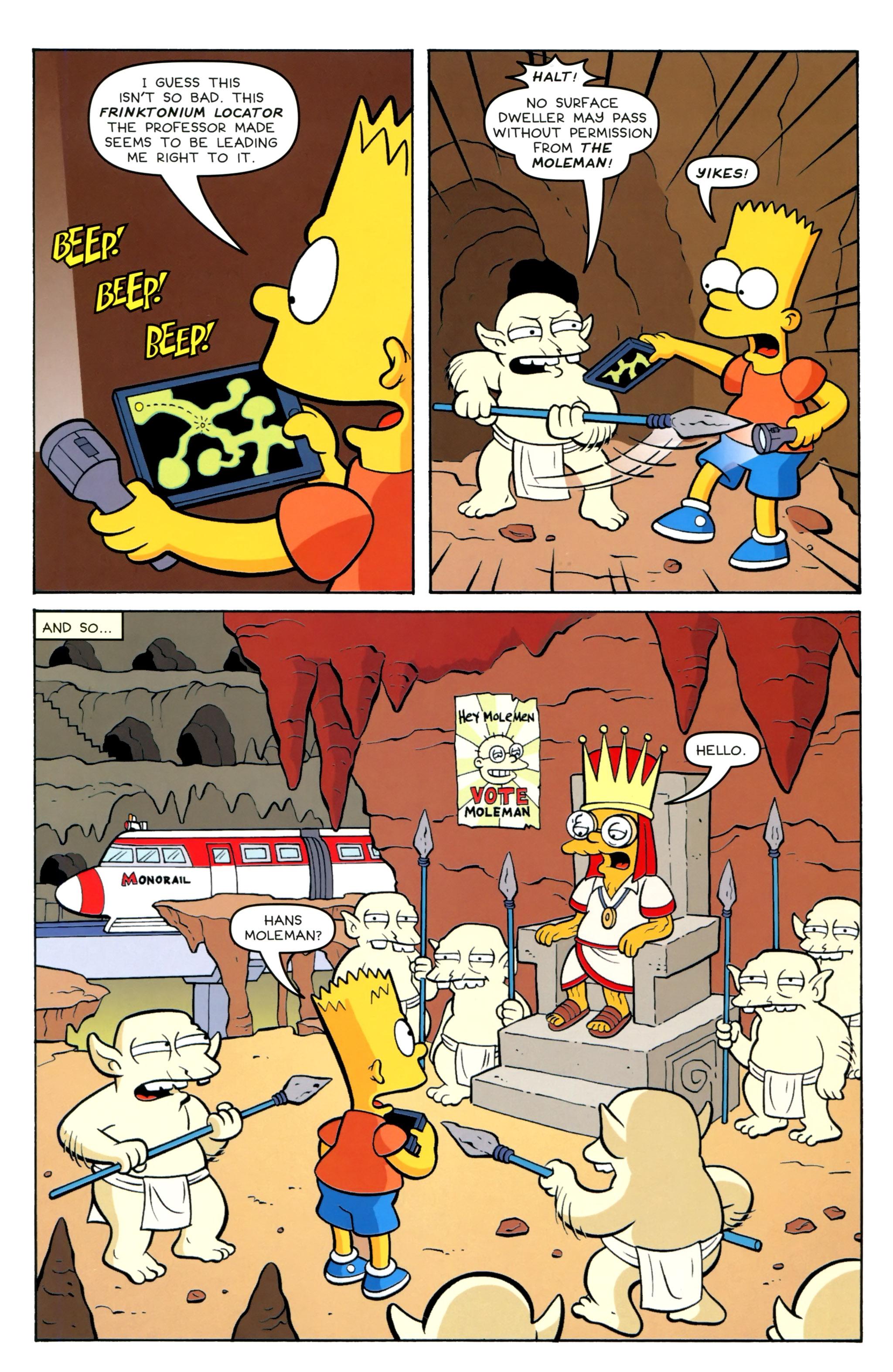 Read online Simpsons Comics Presents Bart Simpson comic -  Issue #100 - 23