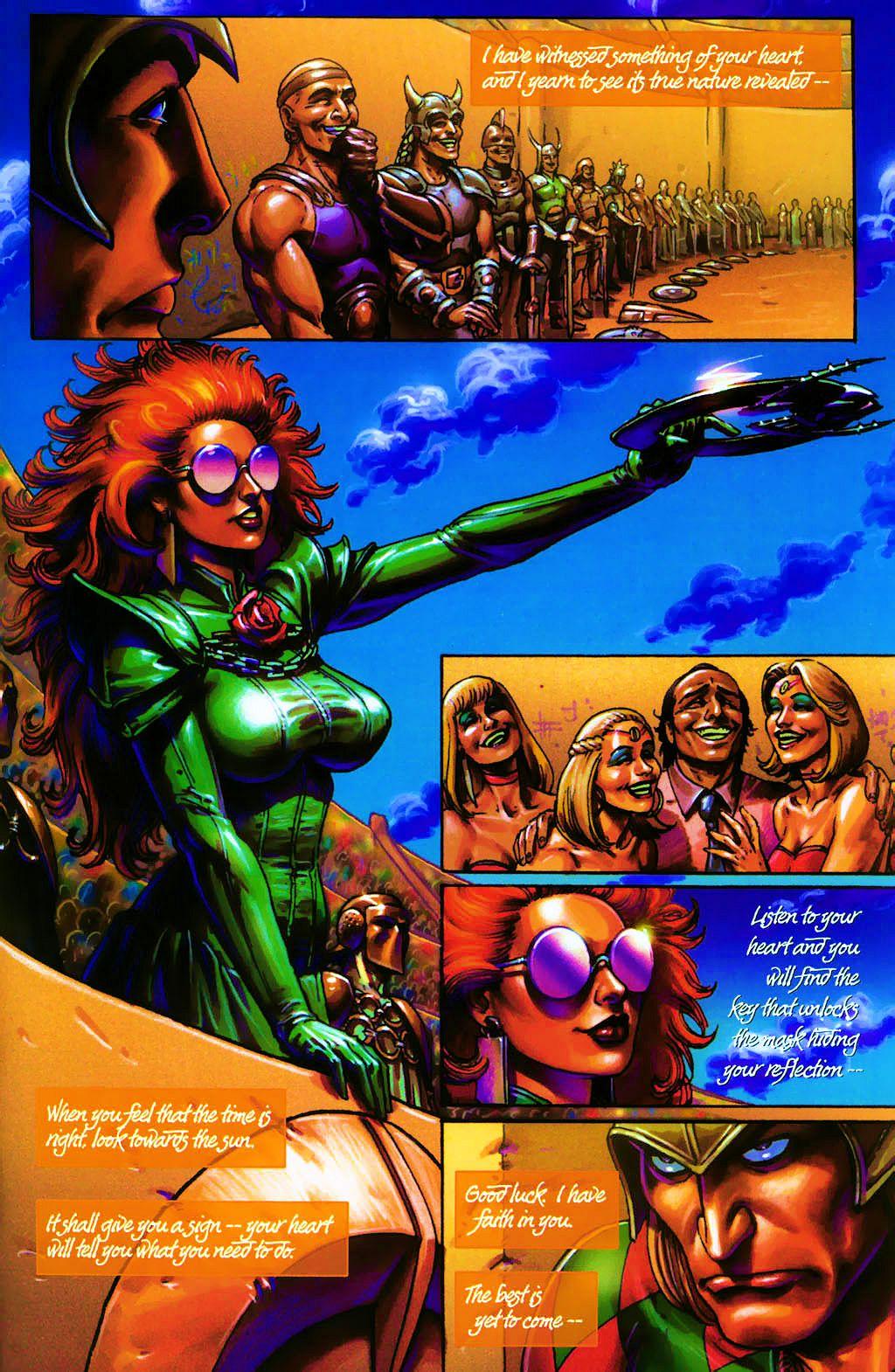 Read online Dawn: Three Tiers comic -  Issue #4 - 9