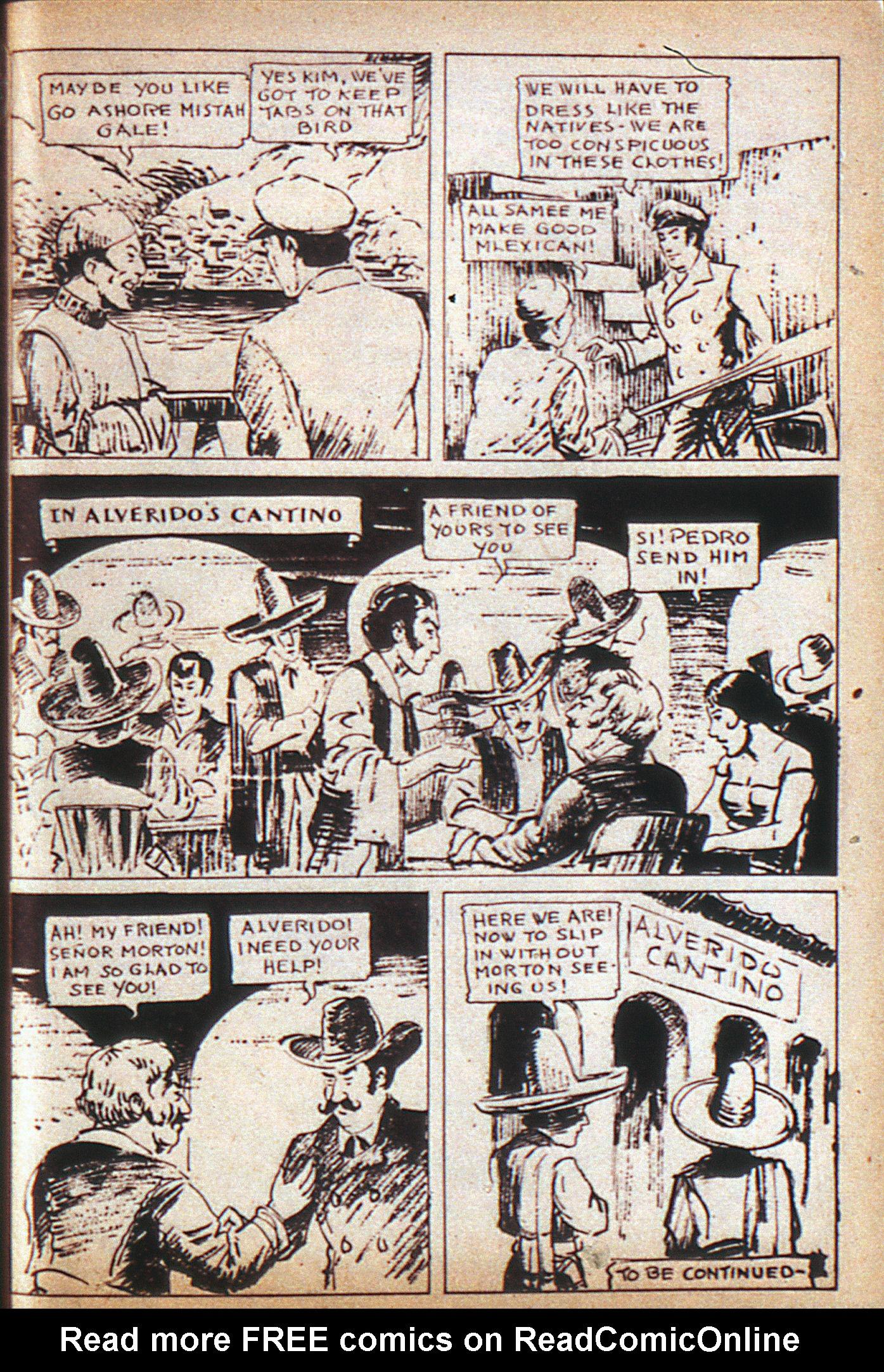 Read online Adventure Comics (1938) comic -  Issue #6 - 39